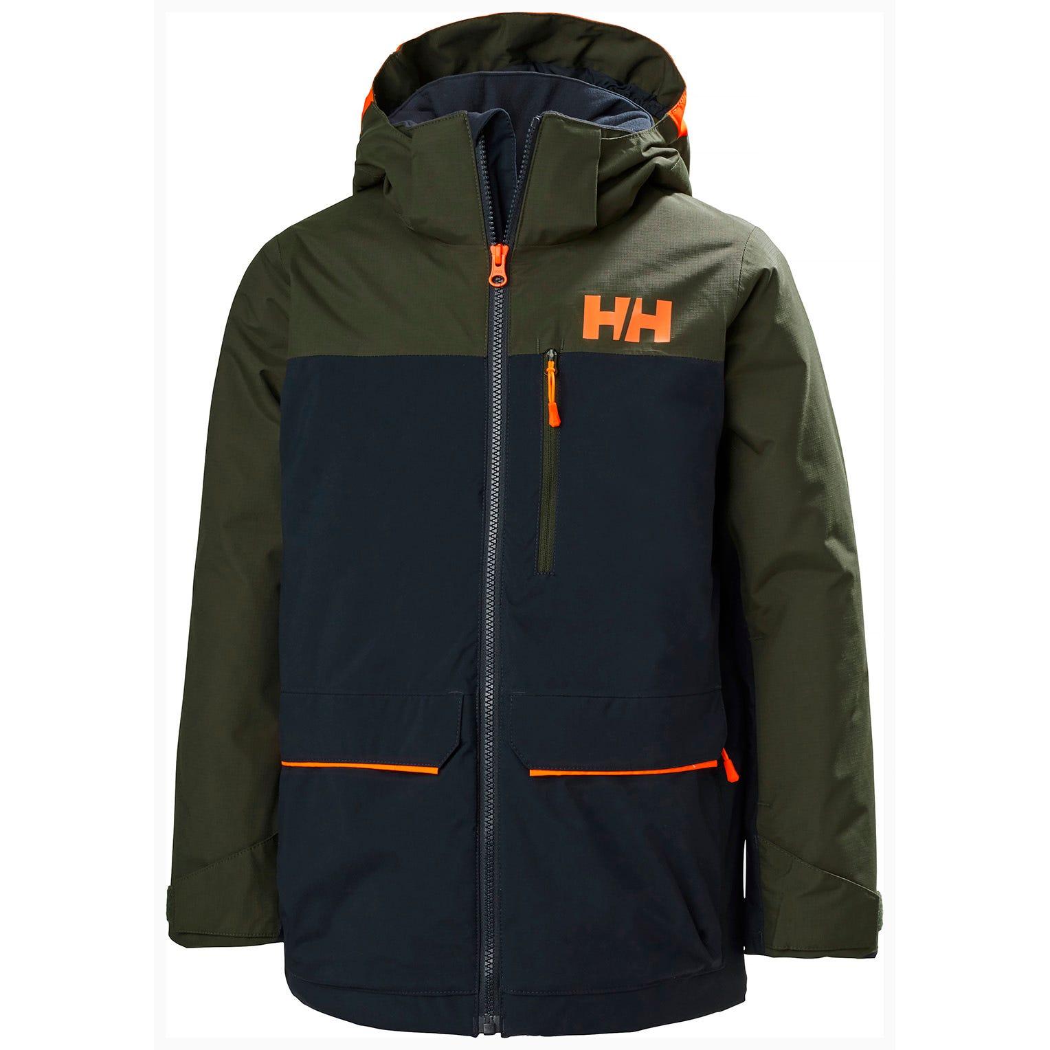 Helly Hansen Juniors Boy Tornado Mountain Ski Jacket Navy 176/16