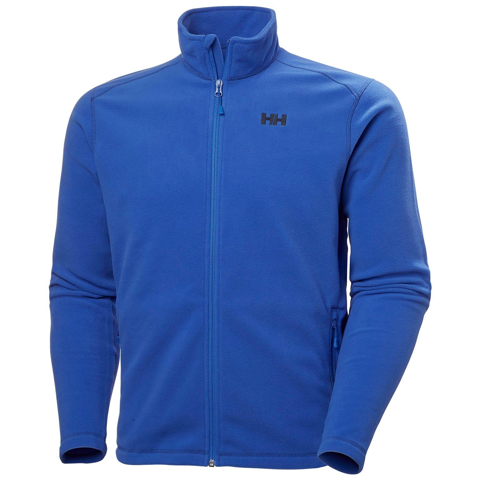 Mens Daybreaker Full Zip Fleece Jacket | Uk Helly Hansen Mens Blue XL