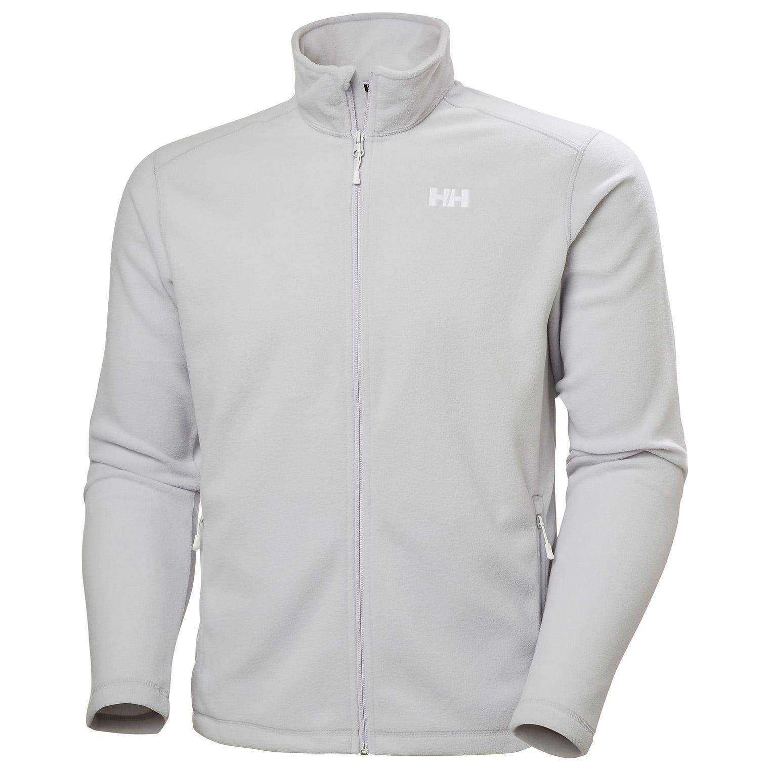 Helly Hansen Mens Daybreaker Full Zip Fleece Jacket Grey S