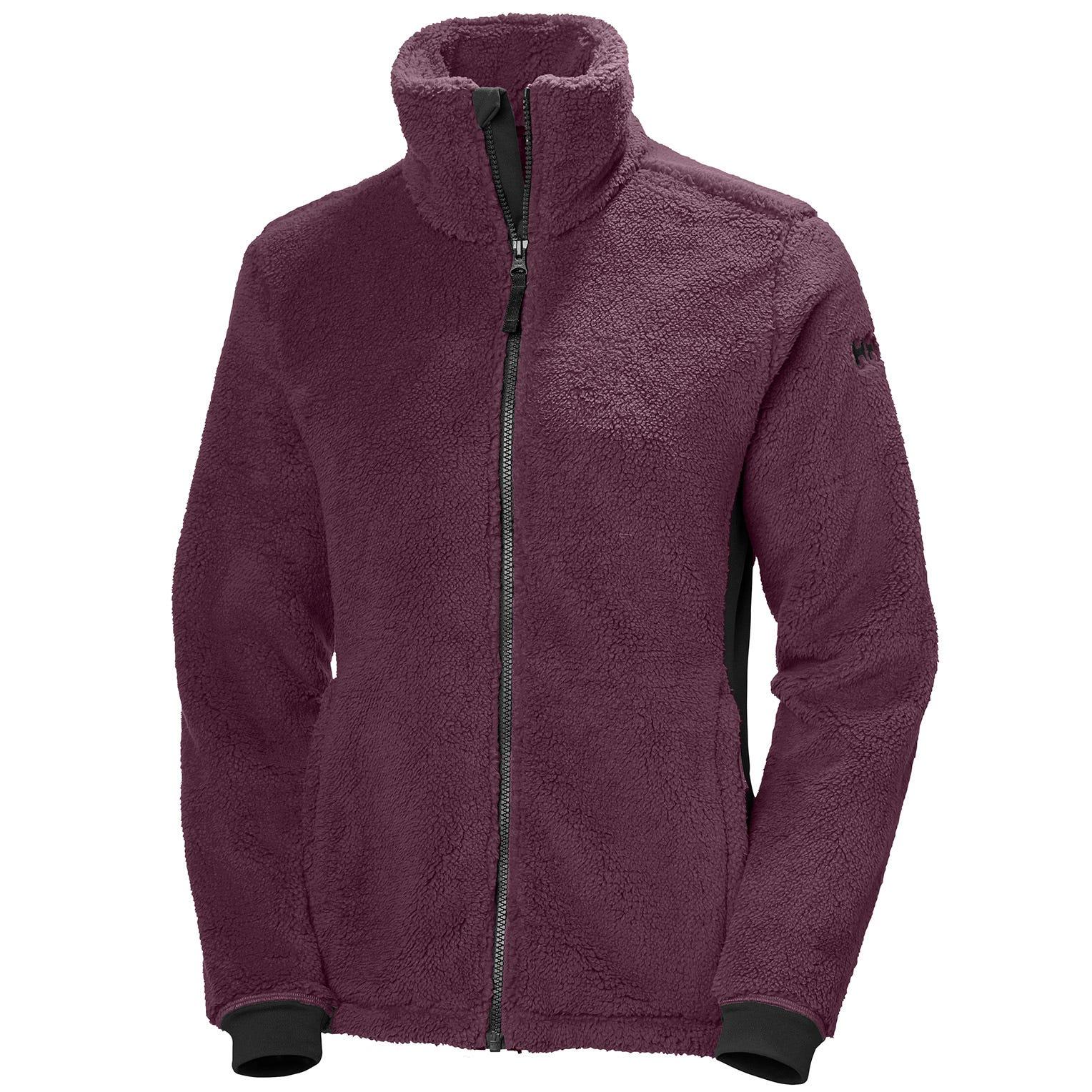 Helly Hansen Womens Precious Fleece Jacket Purple XL