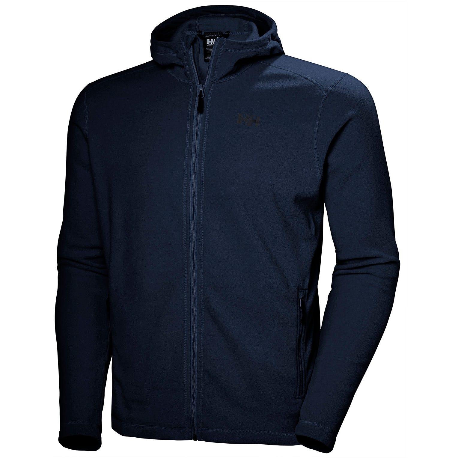 Helly Hansen Mens Daybreaker Hooded Fleece Jacket Navy L