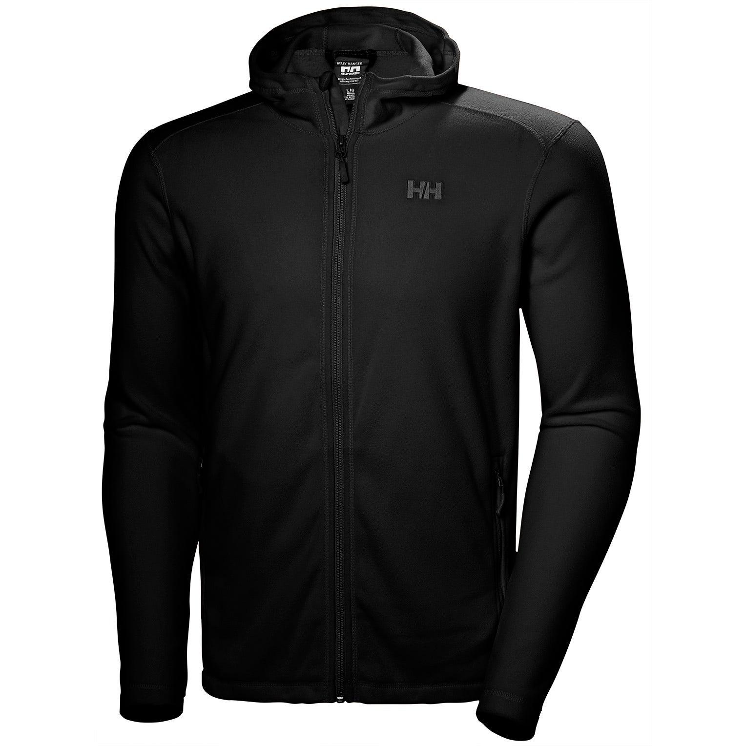 Helly Hansen Mens Daybreaker Hooded Fleece Jacket Black M