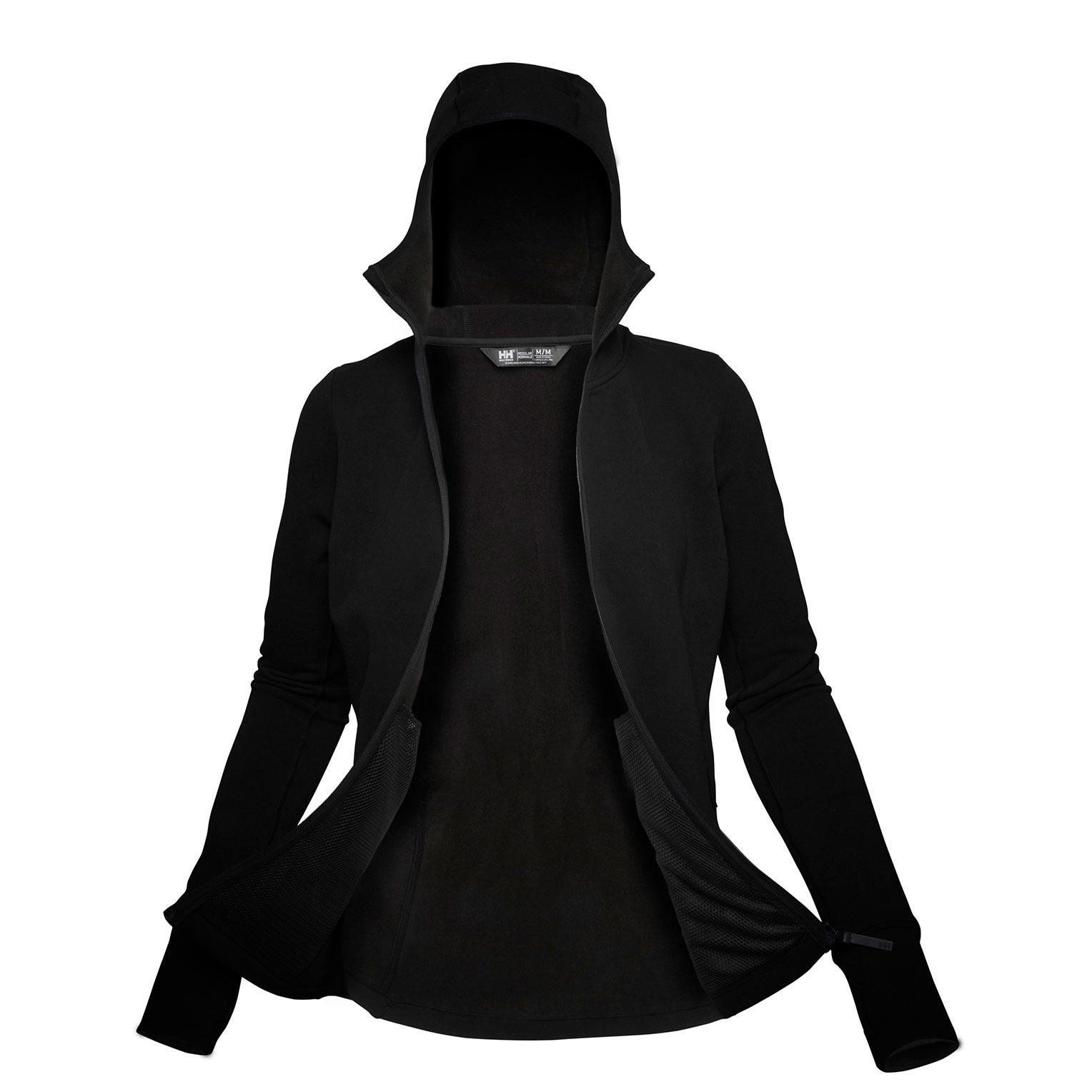 Helly Hansen Womens Power Stretch Pro Glacier Fleece Jacket Black XL