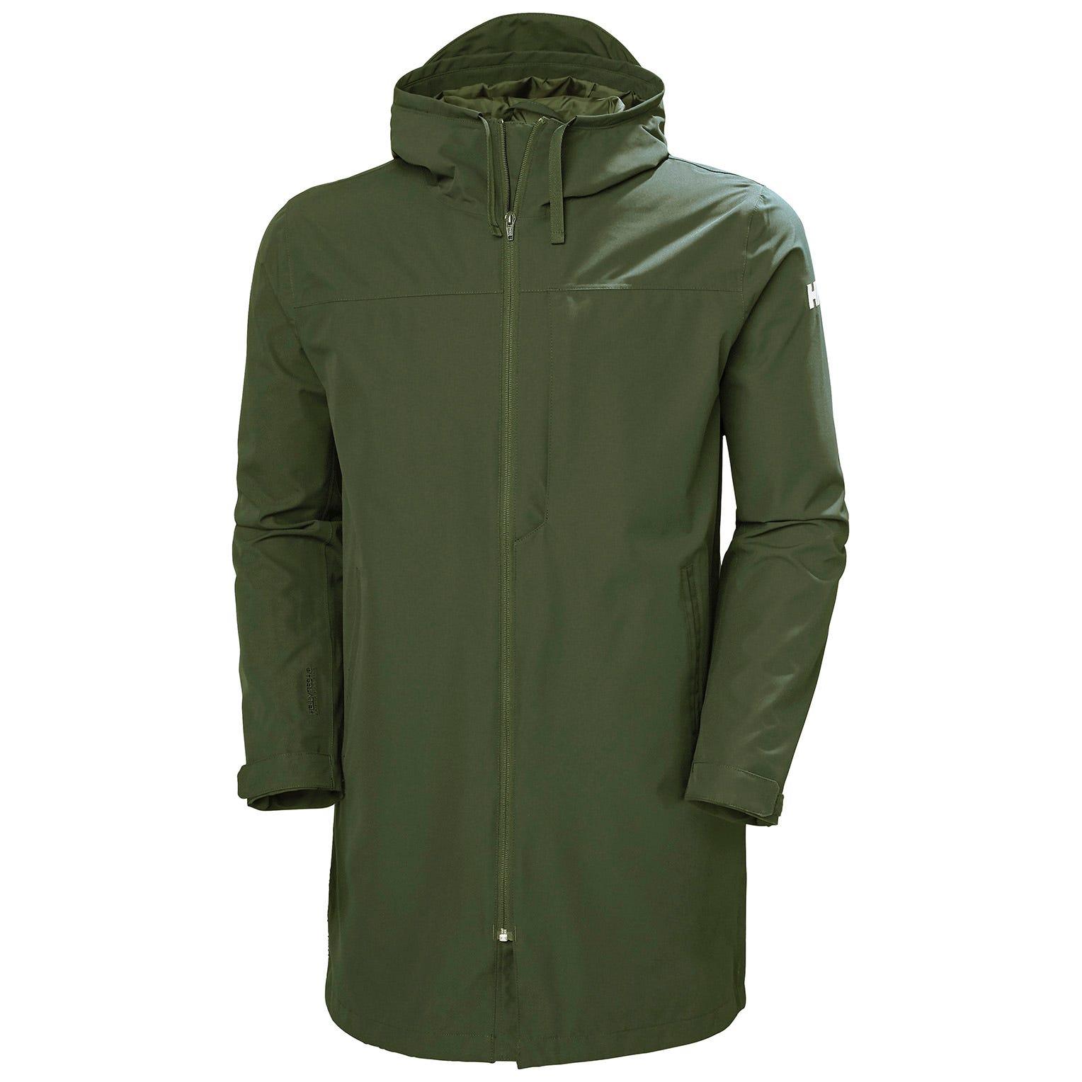 Helly Hansen Mens Mono Material Breathable Rain Coat XXL