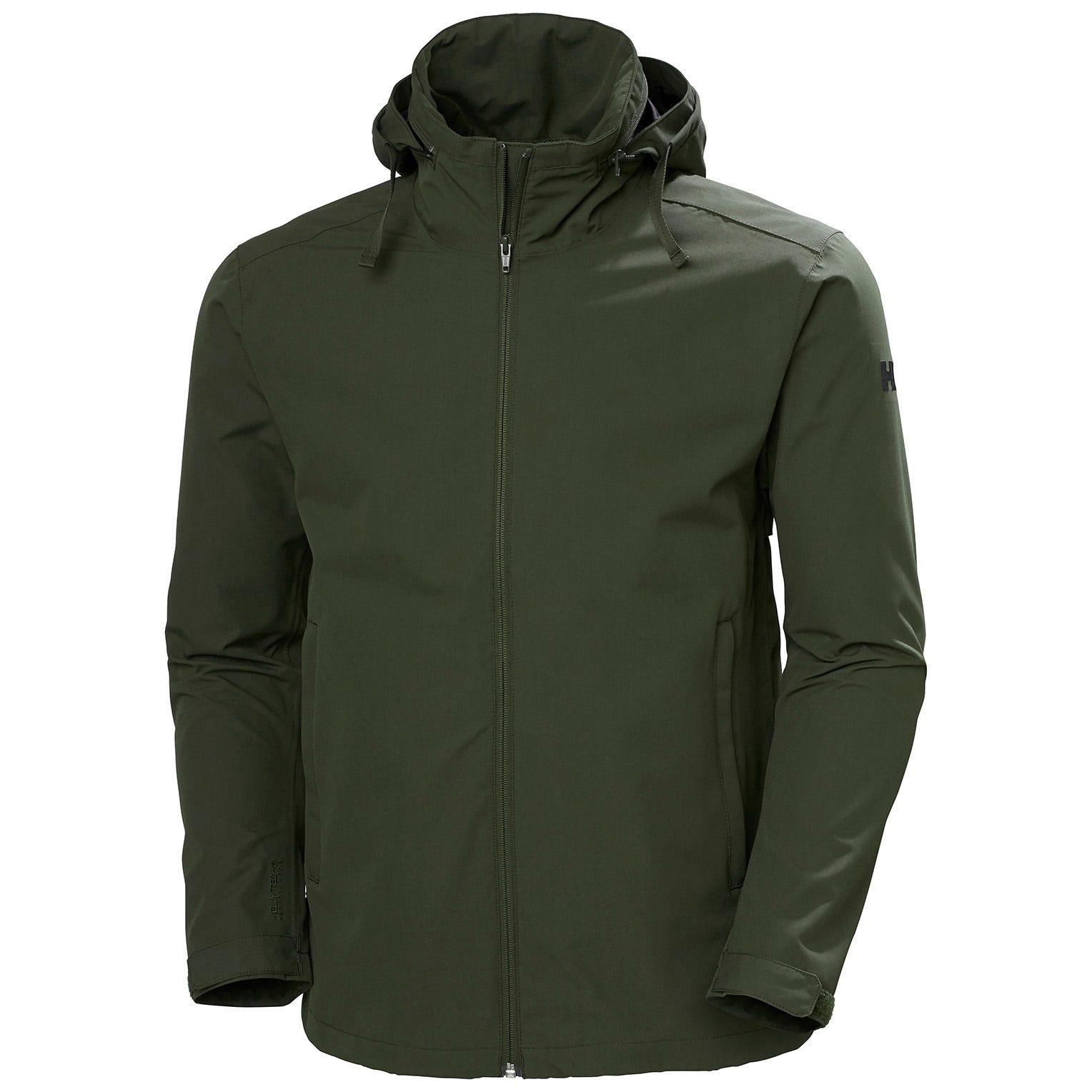 Helly Hansen Mens Mono Material Waterproof Rain Jacket S