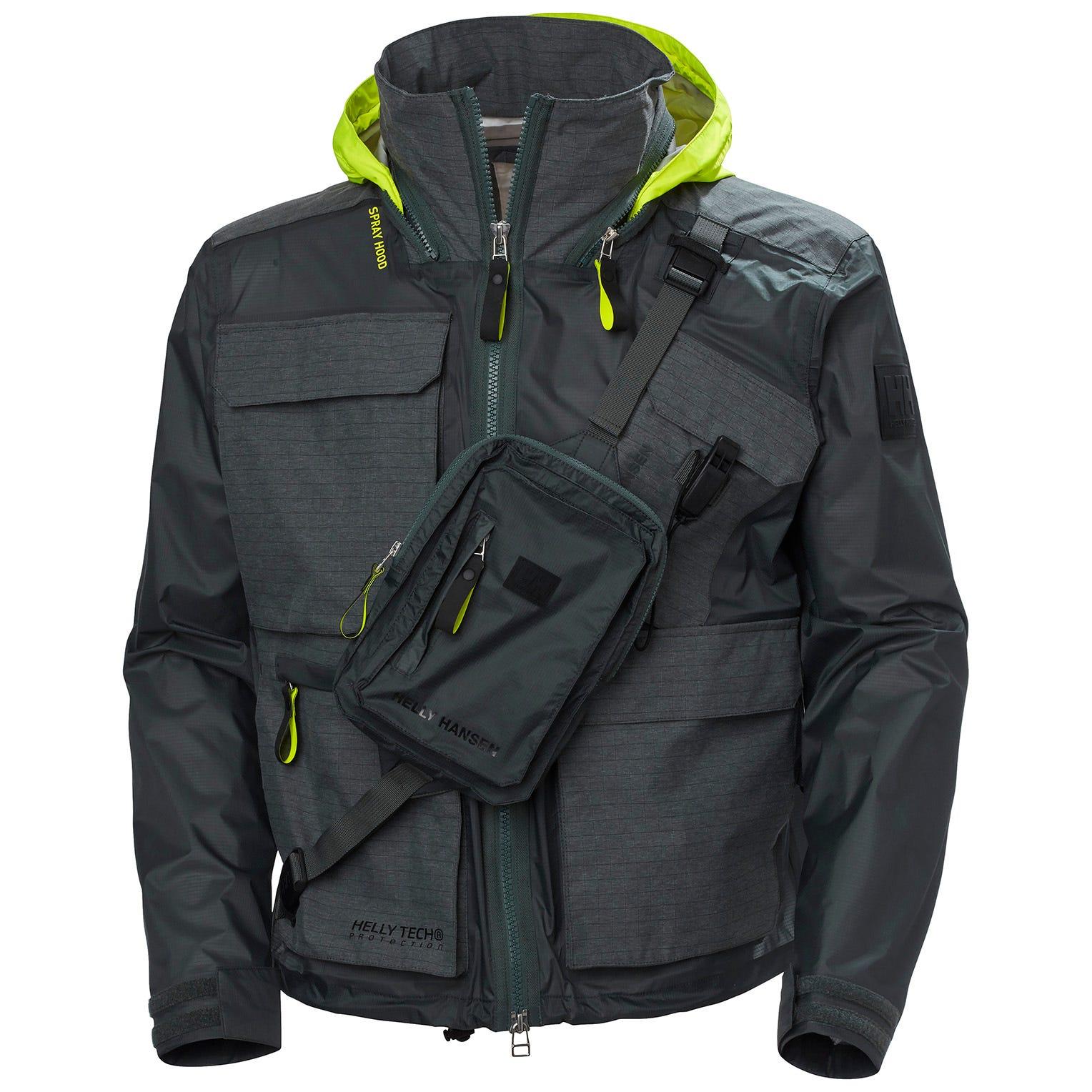 Helly Hansen Mens Hh Arc S21 Ocean 3l Waterproof Jacket XS