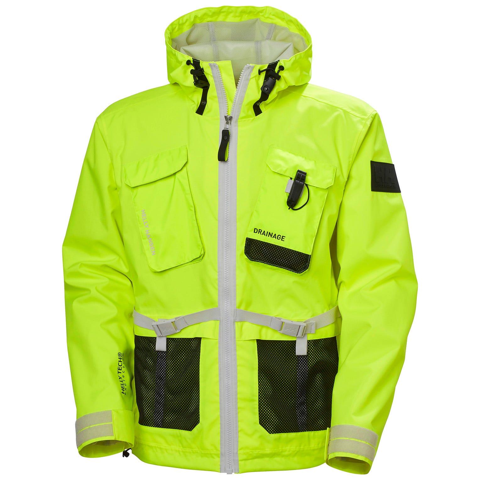 Helly Hansen Mens Hh Arc S21 Waterproof Seaway 2l Jacket XL