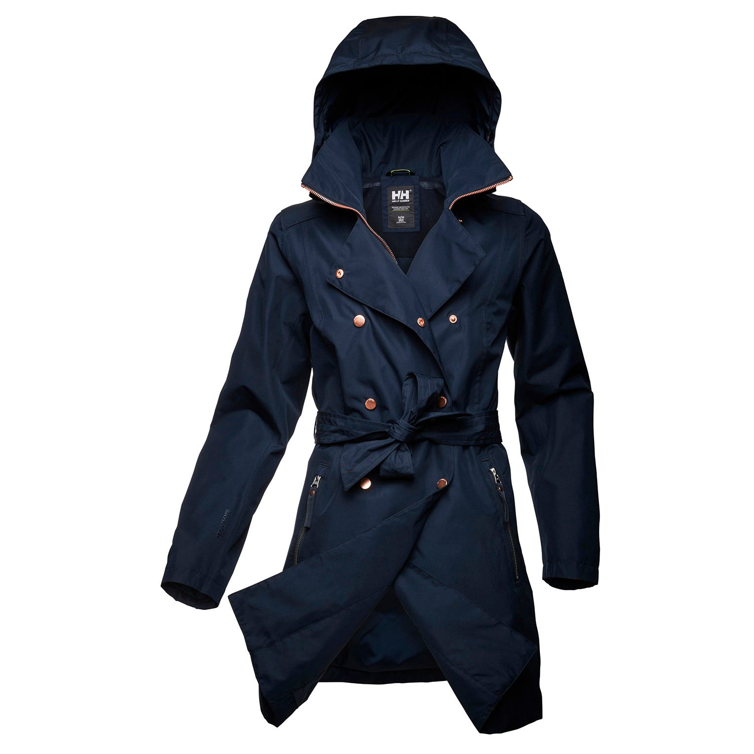 Womens Welsey Ii Updated Trench Coat | Helly Hansen Womens Rain Jacket Navy L