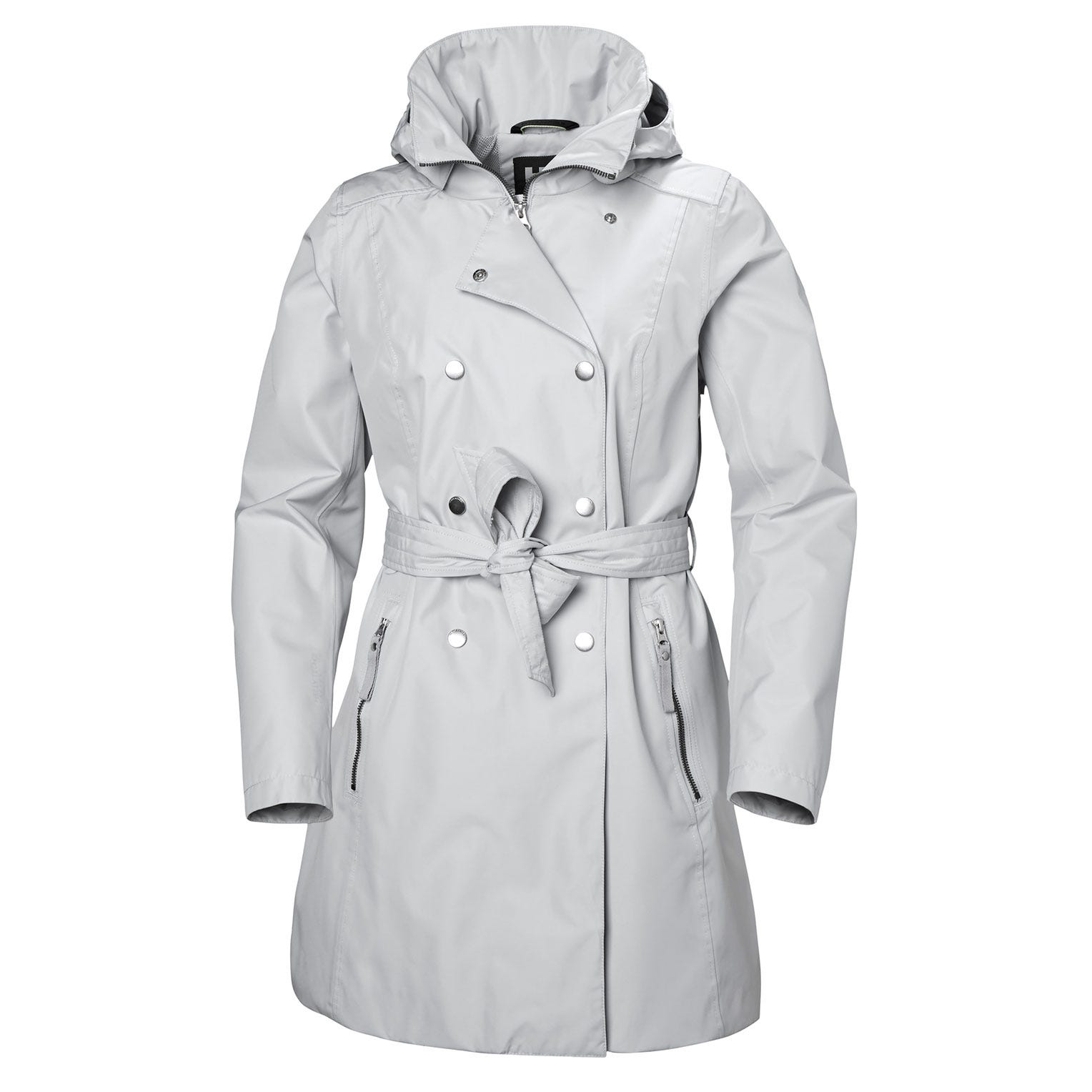 Womens Welsey Ii Updated Trench Coat | Helly Hansen Womens Rain Jacket Grey S