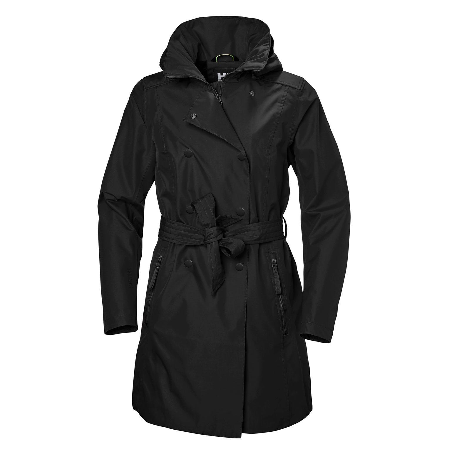 Womens Welsey Ii Updated Trench Coat | Helly Hansen Womens Rain Jacket XL