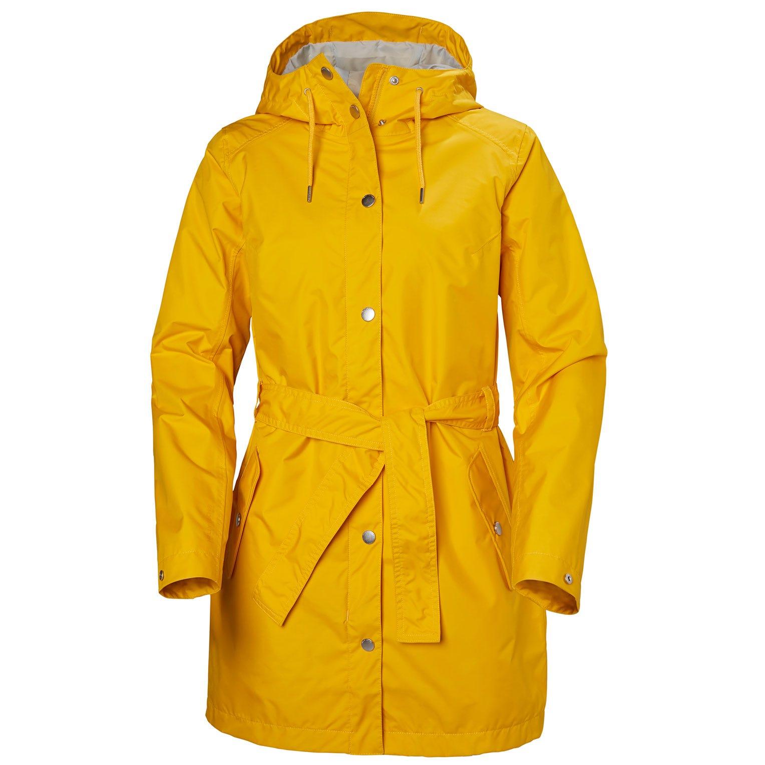 Helly Hansen Womens Lyness Ii Coat Rain Jacket Yellow XL