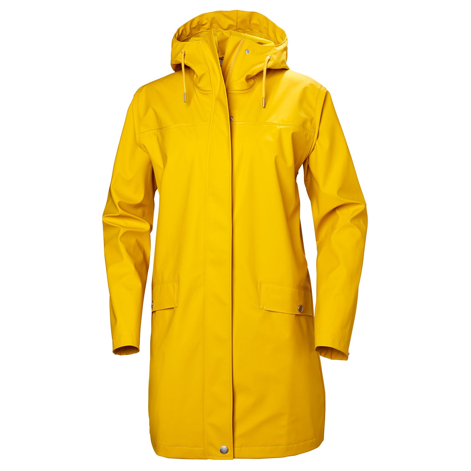 Helly Hansen Womens Moss Waterproof Rain Coat Yellow XL