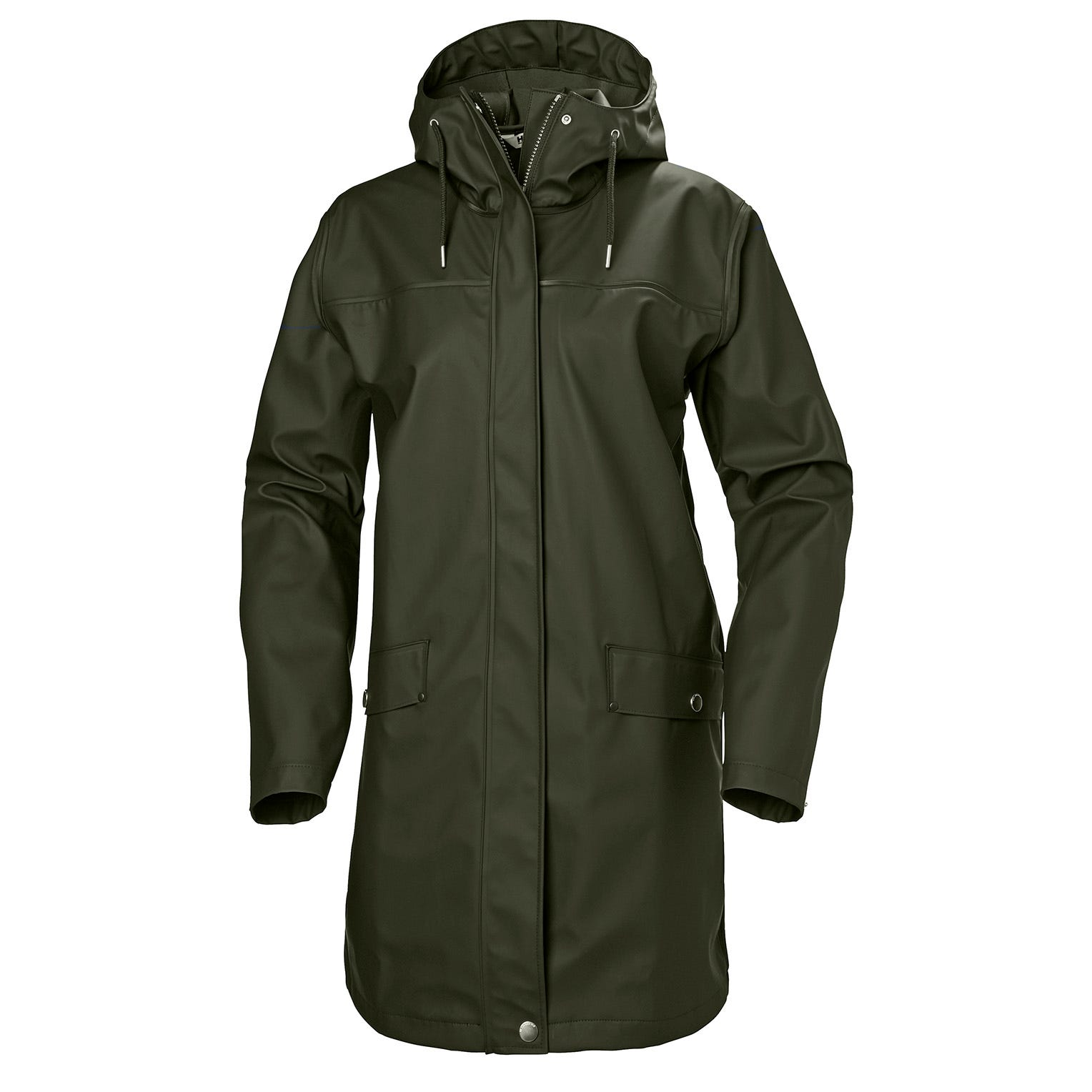 Helly Hansen Womens Moss Rain Coat Jacket Green L