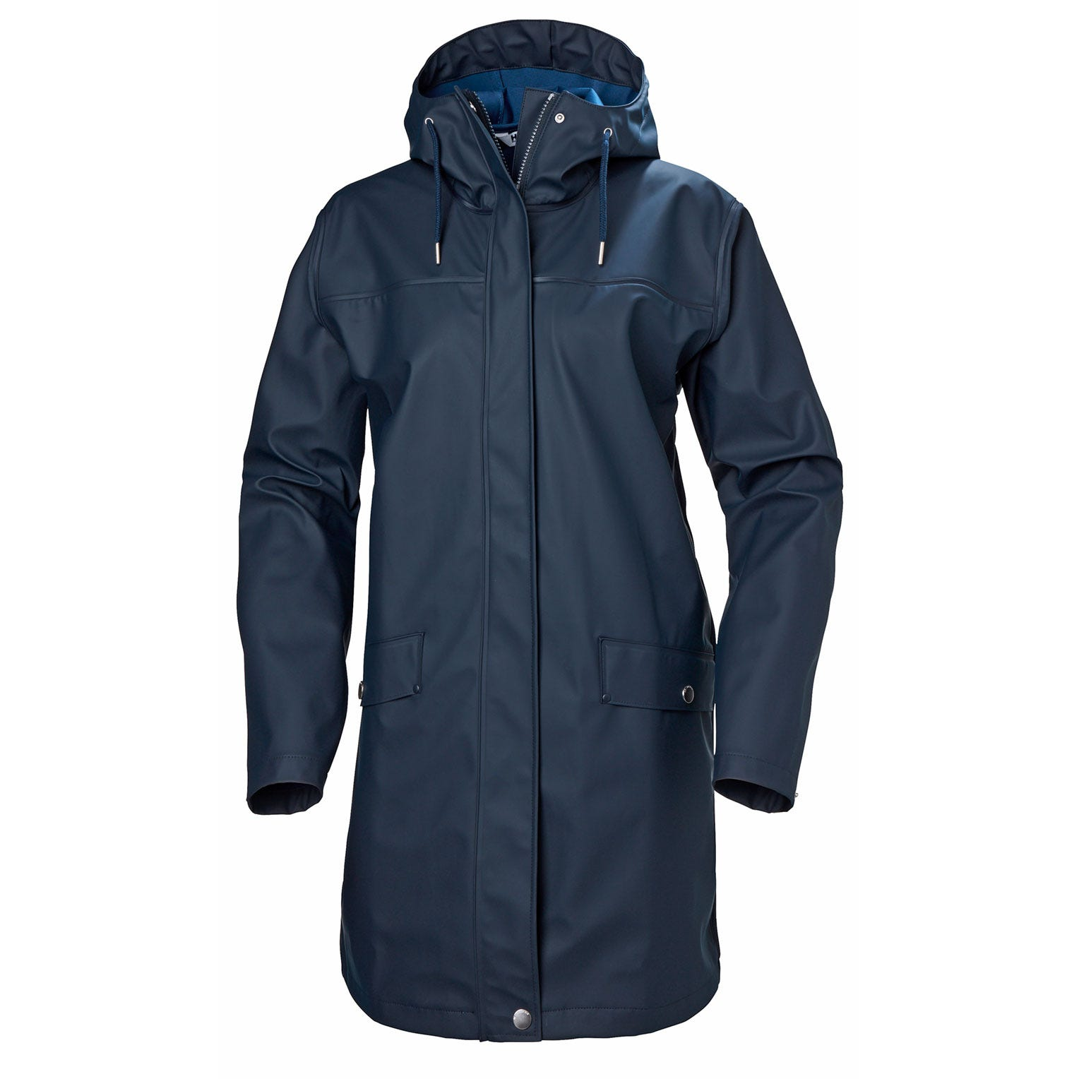 Helly Hansen Womens Moss Rain Coat Jacket Navy M