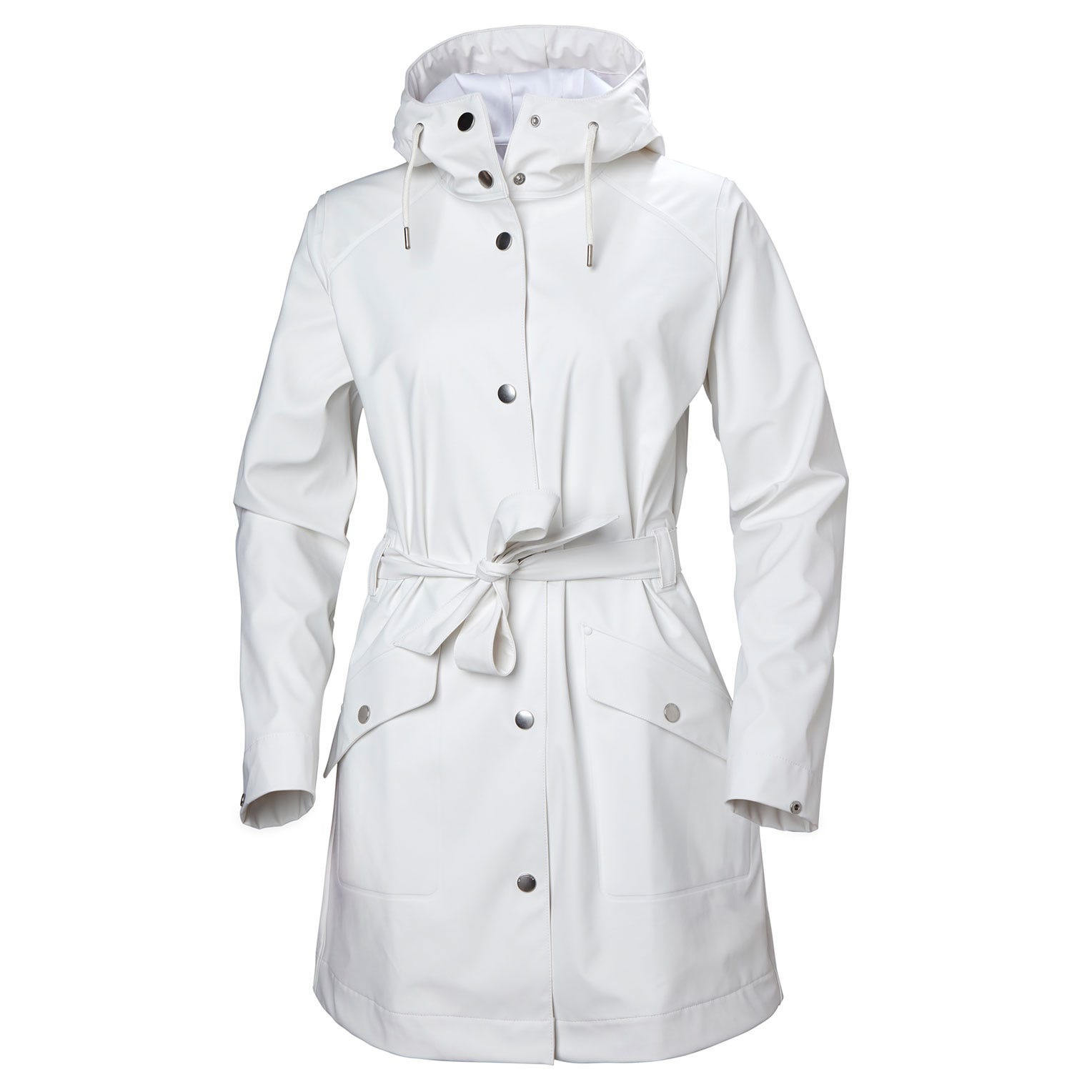 Helly Hansen Womens Kirkwall Ii Raincoat Rain Jacket White M