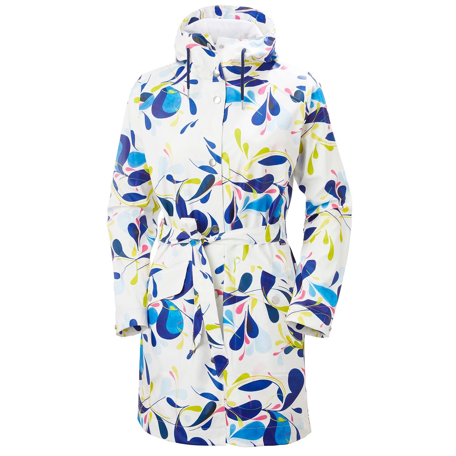 Helly Hansen Womens Kirkwall Ii Waterproof Raincoat White XS