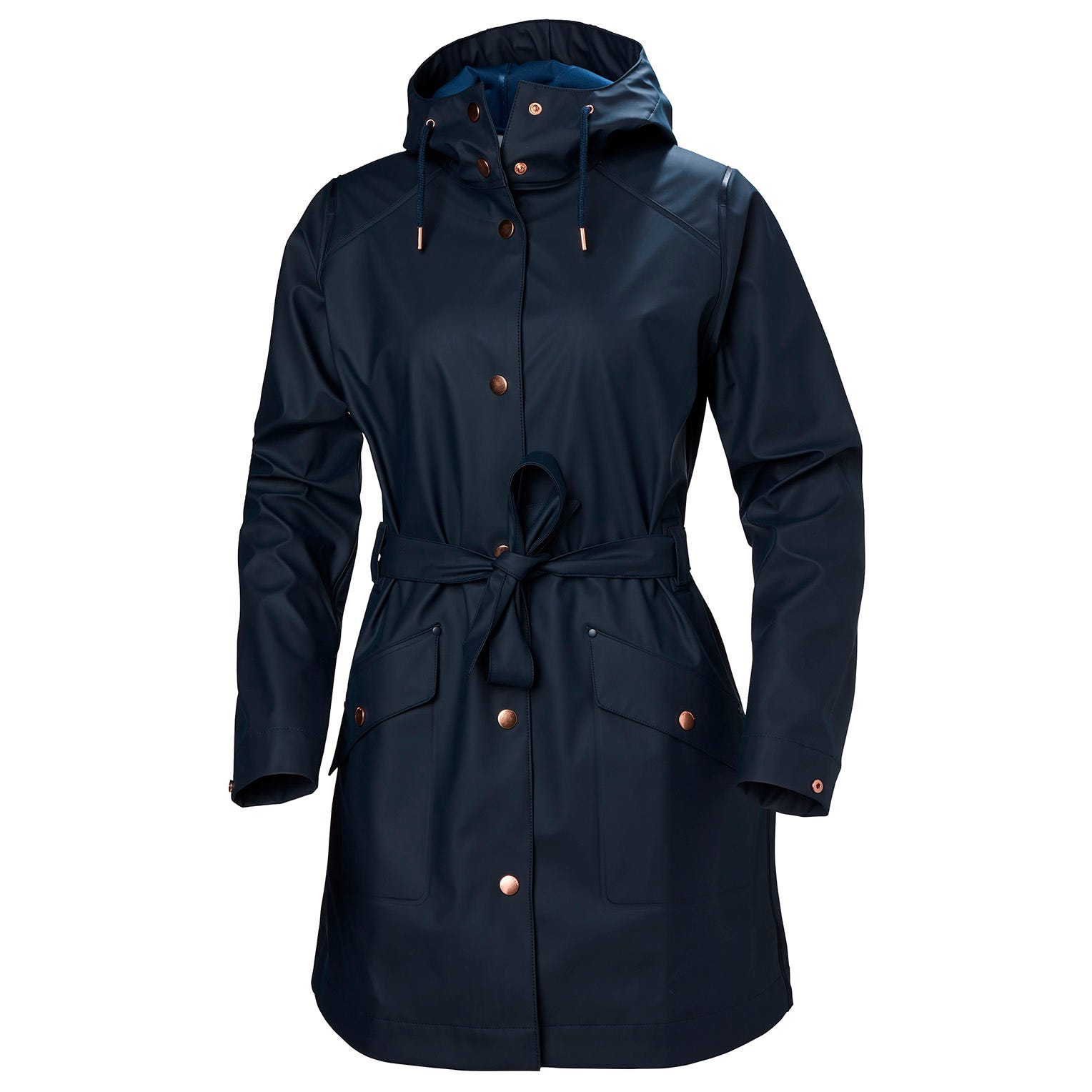 Womens Kirkwall Ii Fully Waterproof Raincoat | Helly Hansen Womens Rain Jacket Navy S