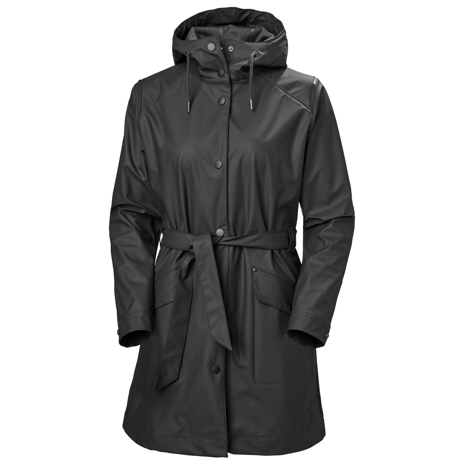 Helly Hansen Womens Kirkwall Ii Raincoat Rain Jacket Black S