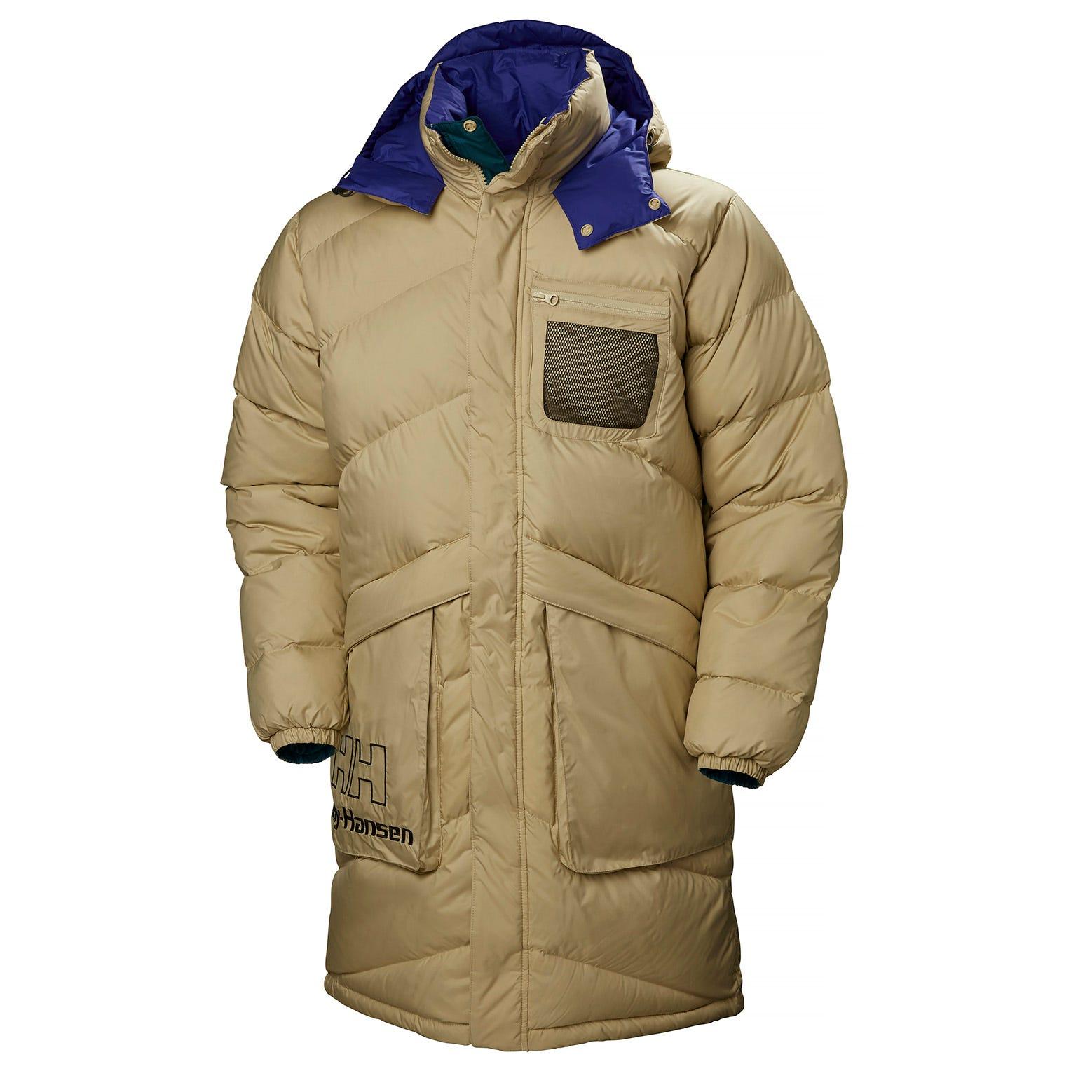 Helly Hansen Heritage Reversible Puffer Coat Beige M