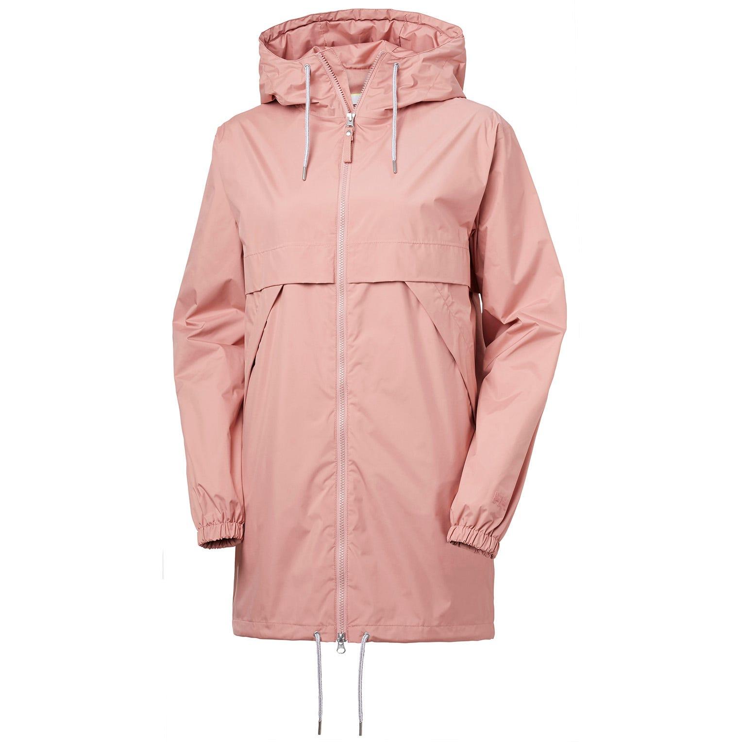 Helly Hansen Womens Jpn Raincoat Pink L
