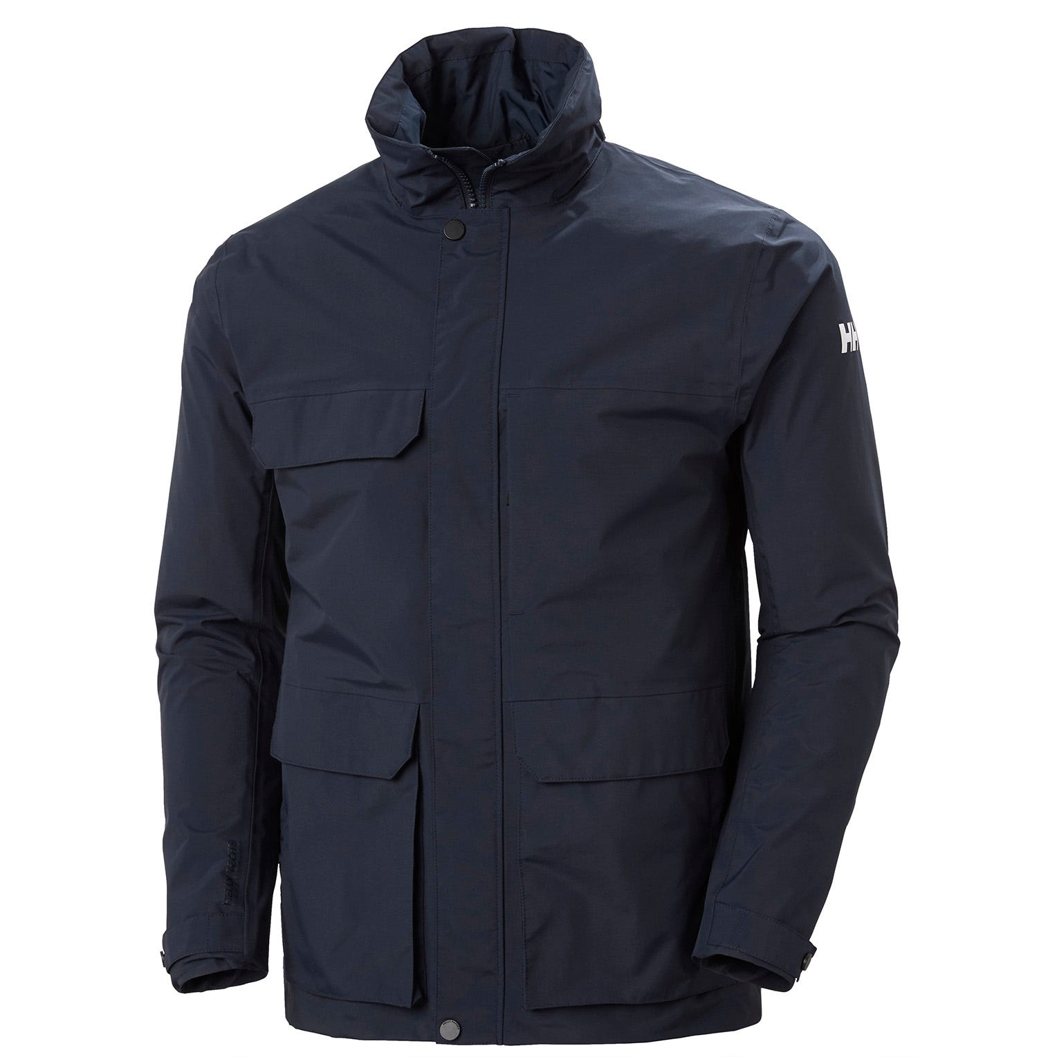 Helly Hansen Mens Utility Waterproof Rain Jacket Navy M