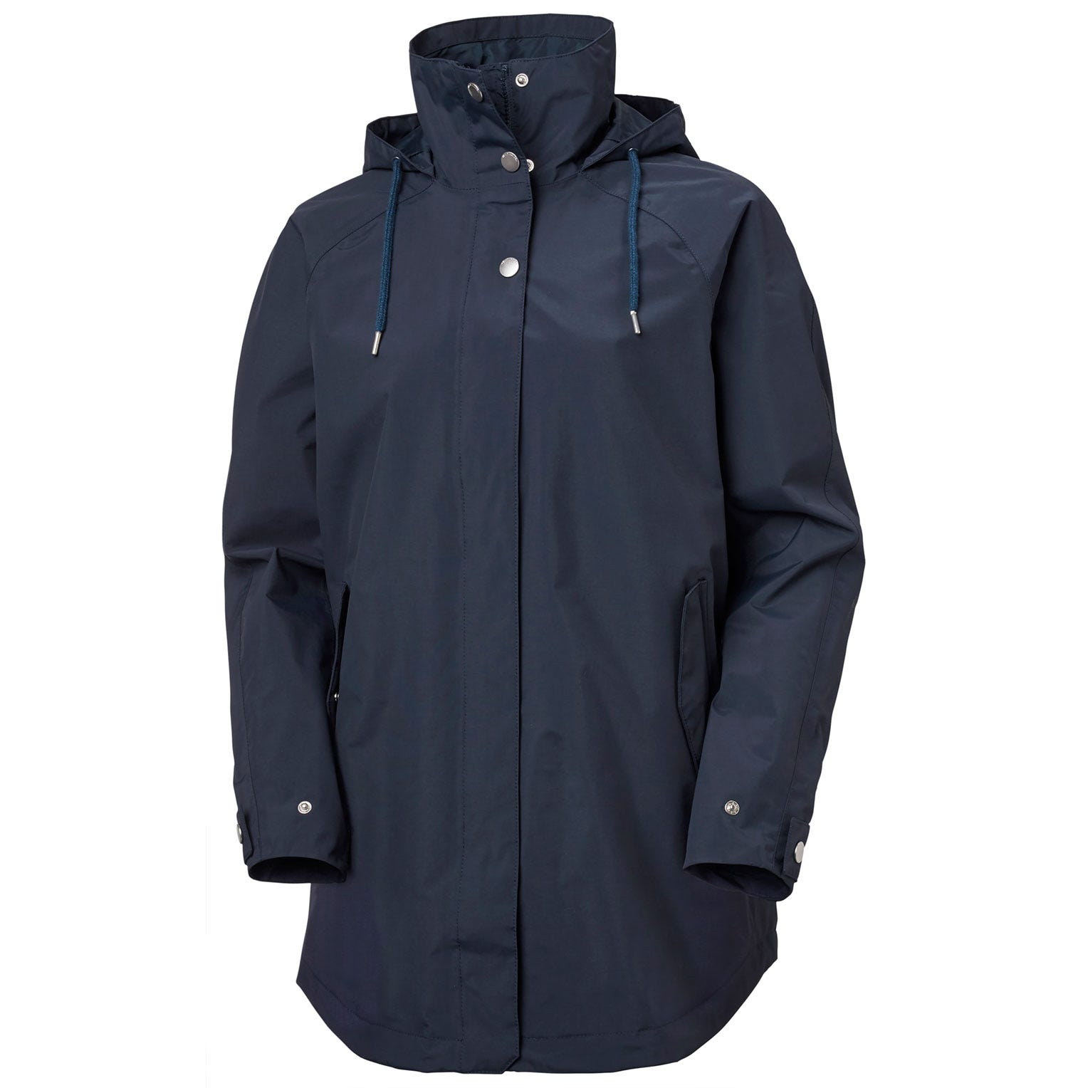 Helly Hansen Womens Valentia Raincoat Navy XL