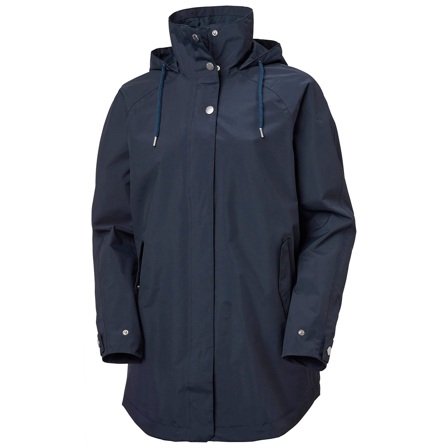 Womens Valentia Windproof Raincoat | Uk Helly Hansen Womens Rain Jacket Navy L