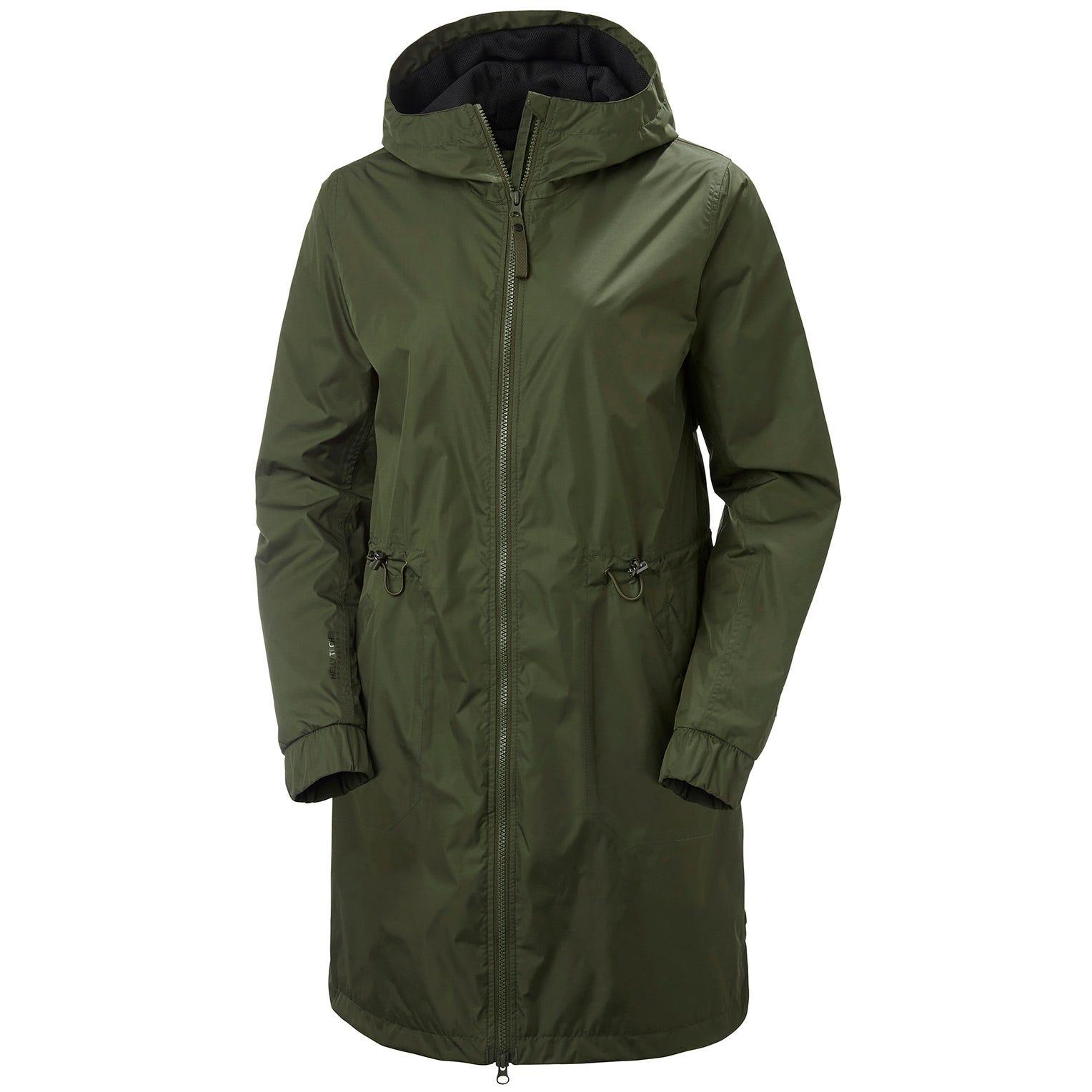 Helly Hansen Womens Iona Vented Rain Jacket Green S