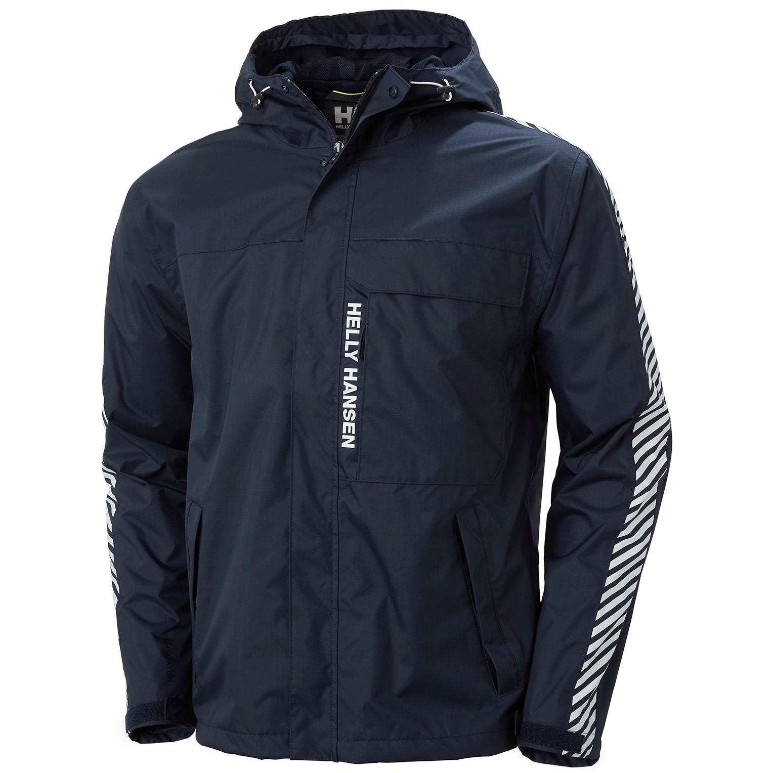 Mens Vector Packable Summer Rain Jacket | Helly Hansen Mens Navy S