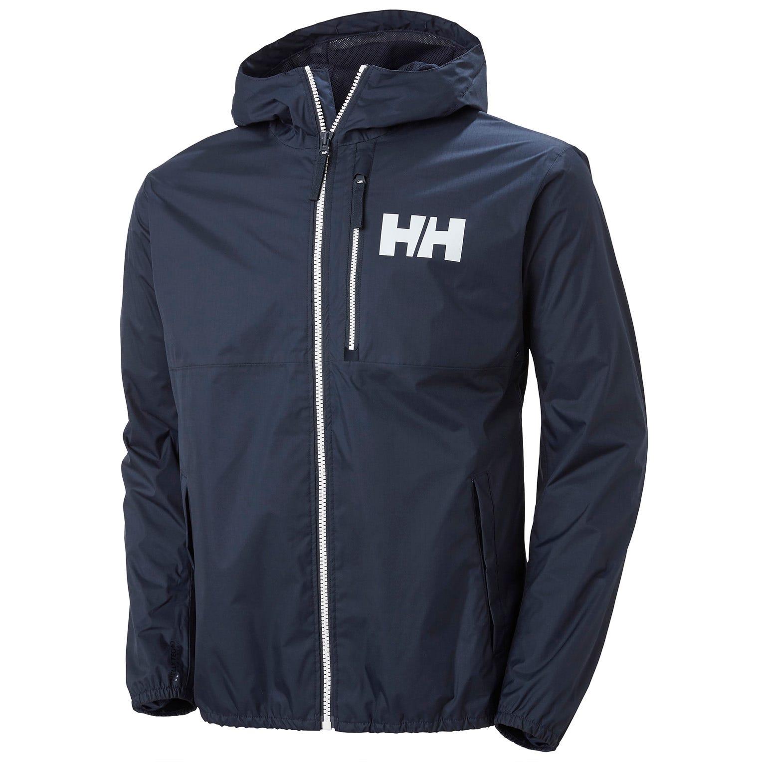 Helly Hansen Mens Belfast 2 Packable Jacket Navy M