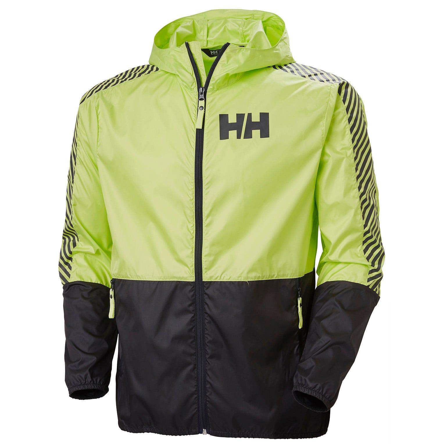 Mens Active Lightweight Wind Jacket | Uk Helly Hansen Mens Green M