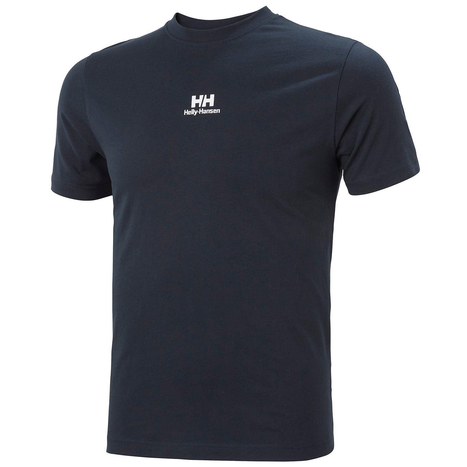 Helly Hansen Mens Yu20 Logo Breathable Cotton T-shirt   M Navy