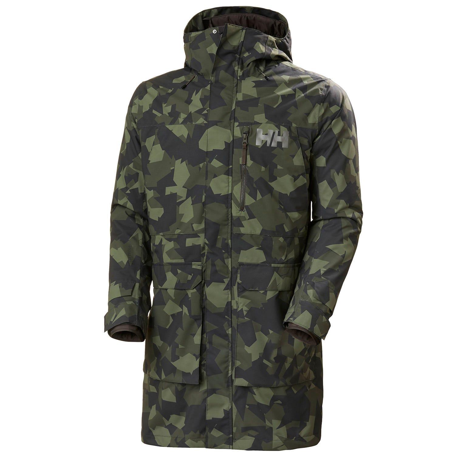 Mens Rigging Waterproof Coat With Inner Jacket | Uk Helly Hansen Mens Rain Green S