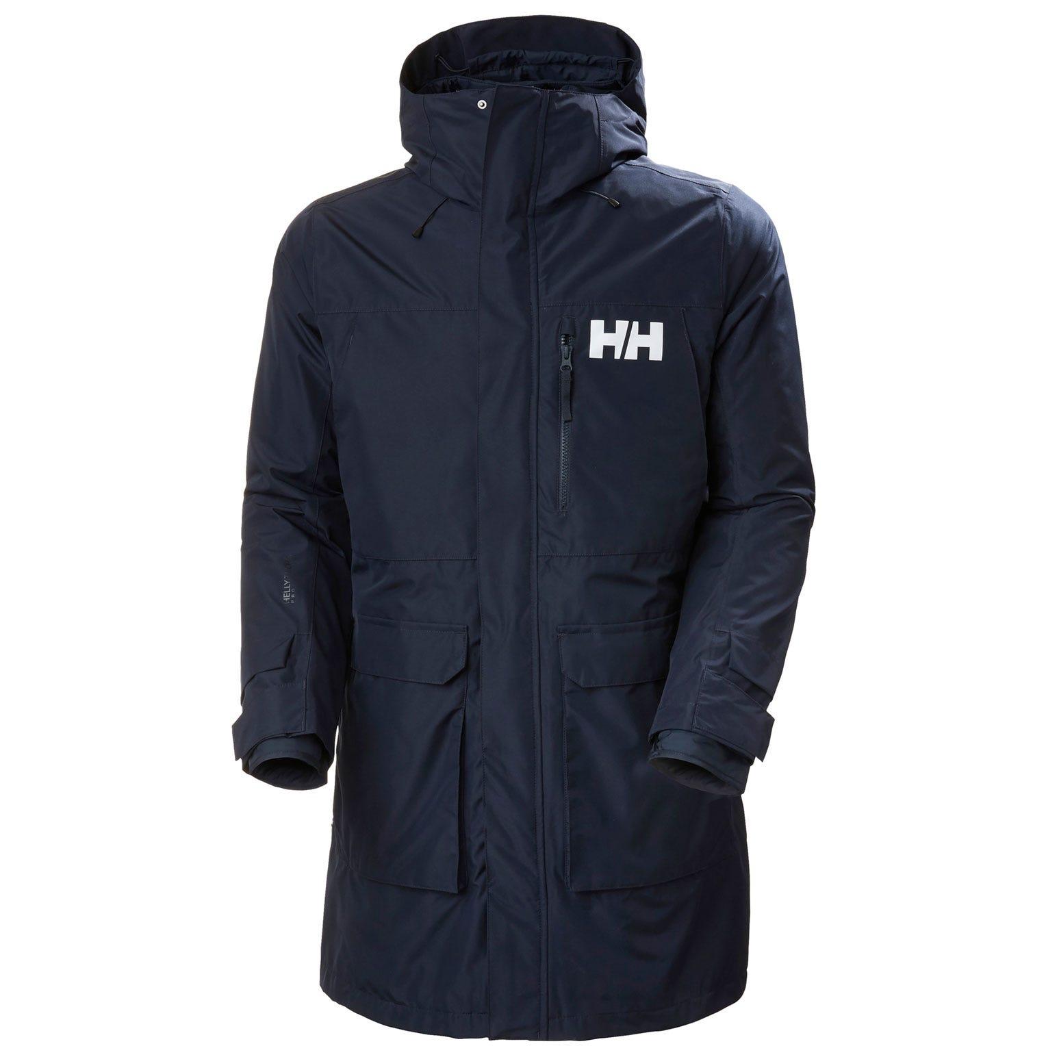 Helly Hansen Mens Rain Jacket Navy L