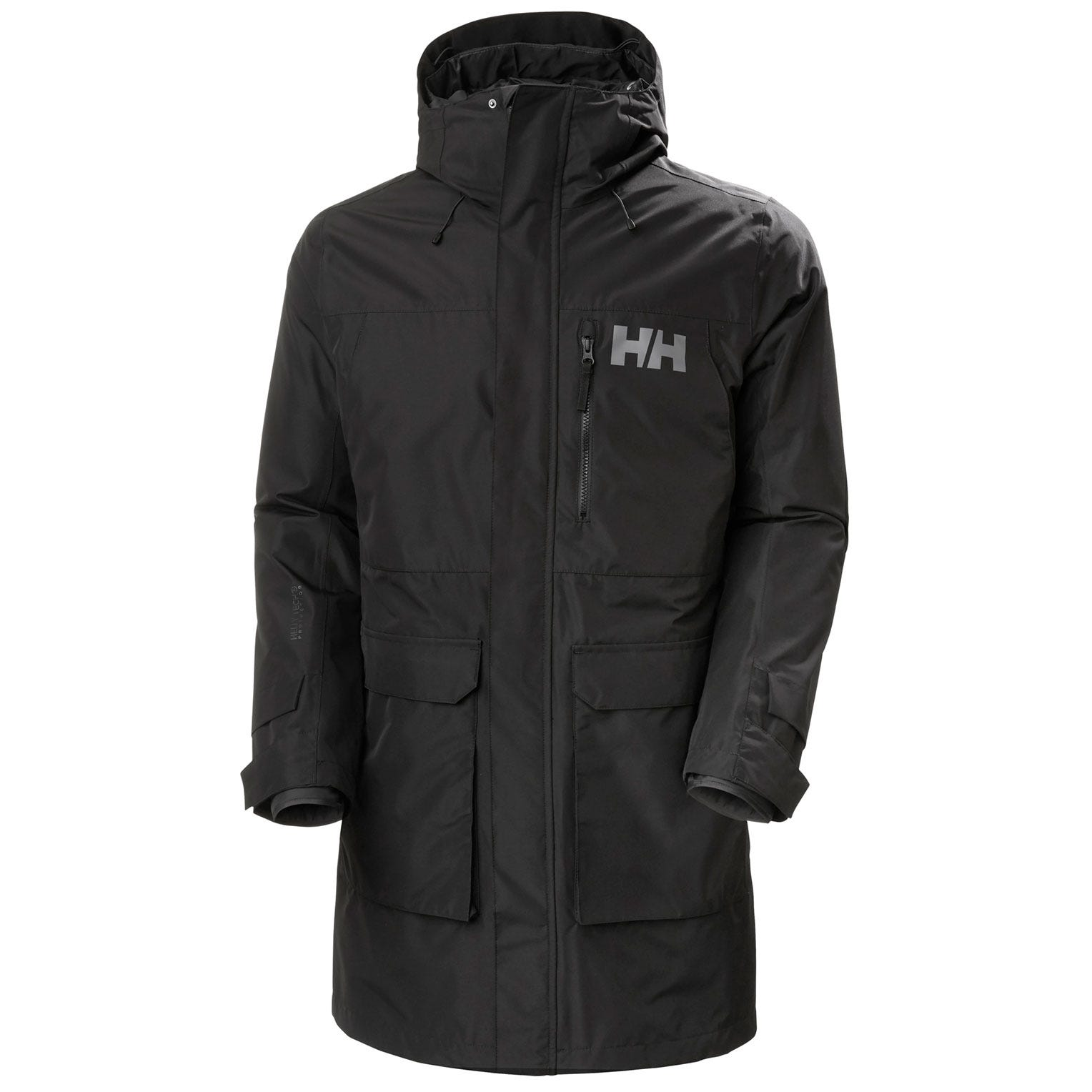 Mens Rigging Waterproof Coat With Inner Jacket | Uk Helly Hansen Mens Rain Black XXL