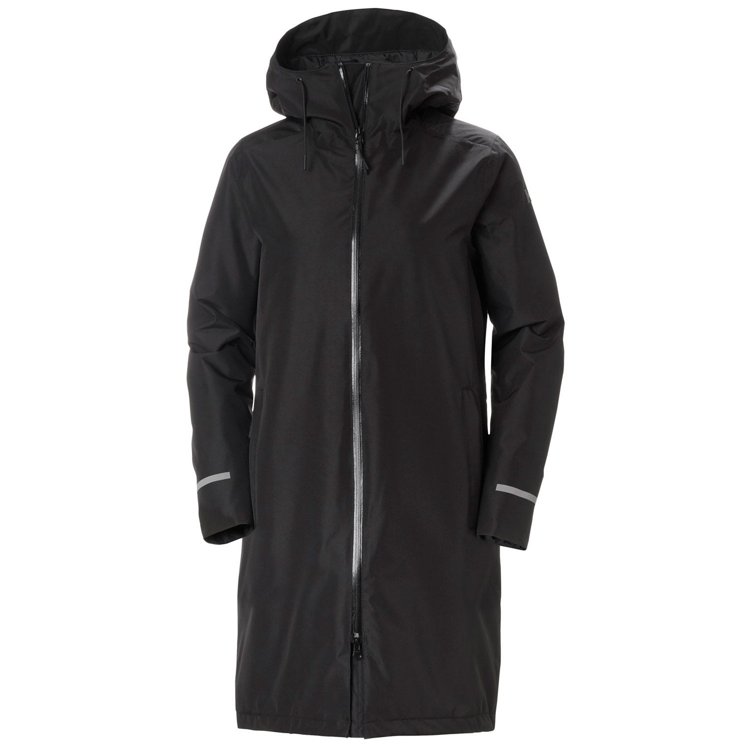 Helly Hansen Womens Aspire Rain Coat Parka Black M