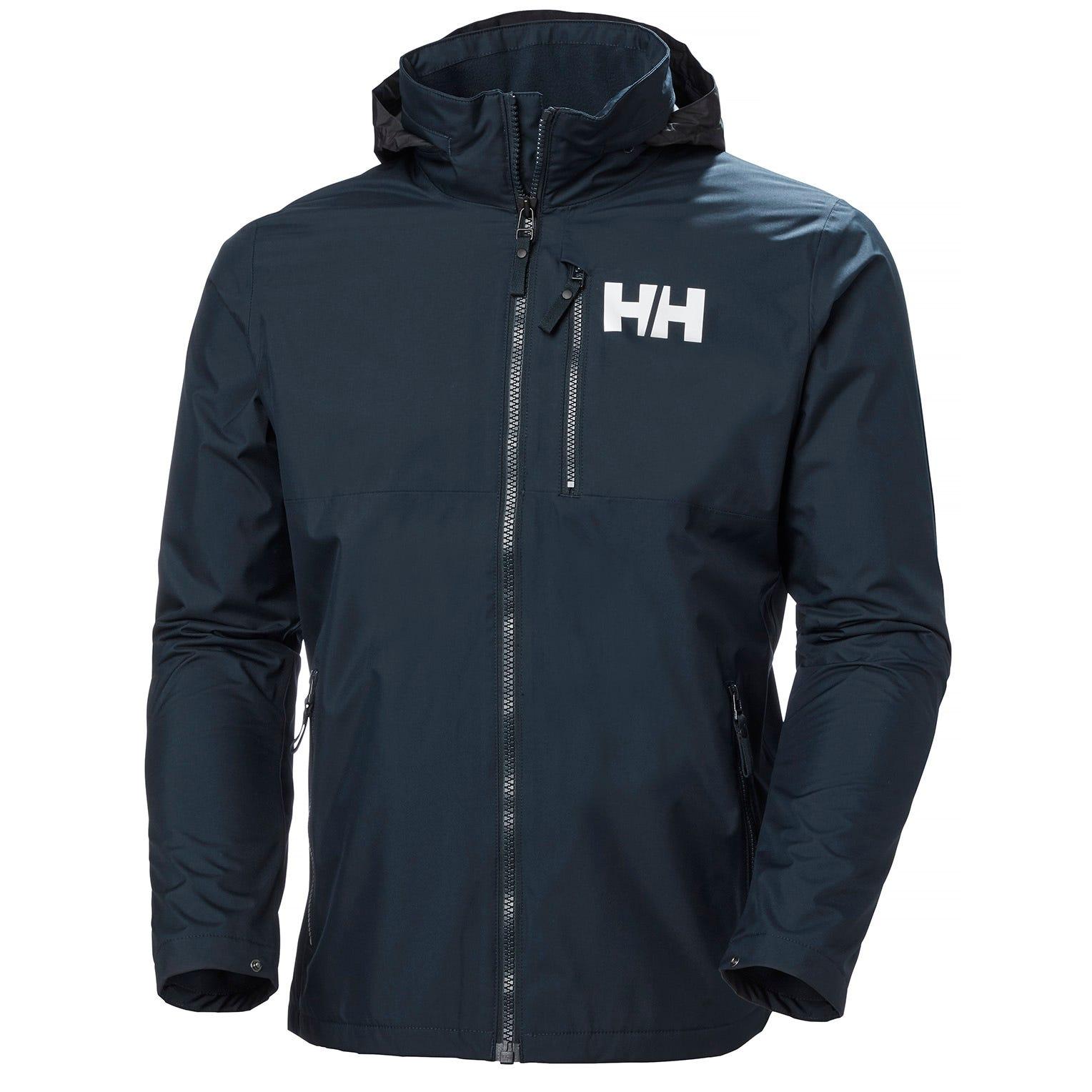 Helly Hansen Mens Active Hooded Midlayer Jacket Navy L