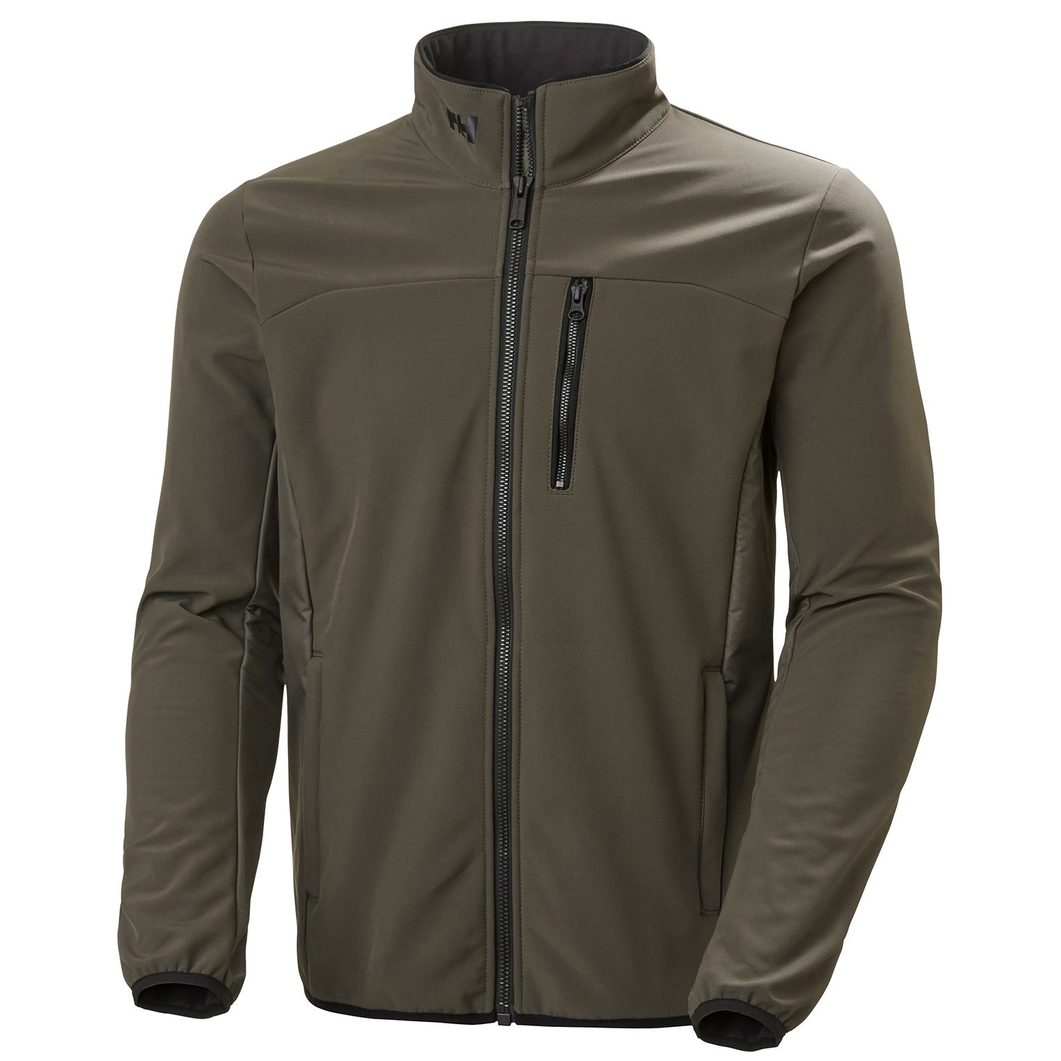 Helly Hansen Mens Crew Softshell Sailing Jacket Green M