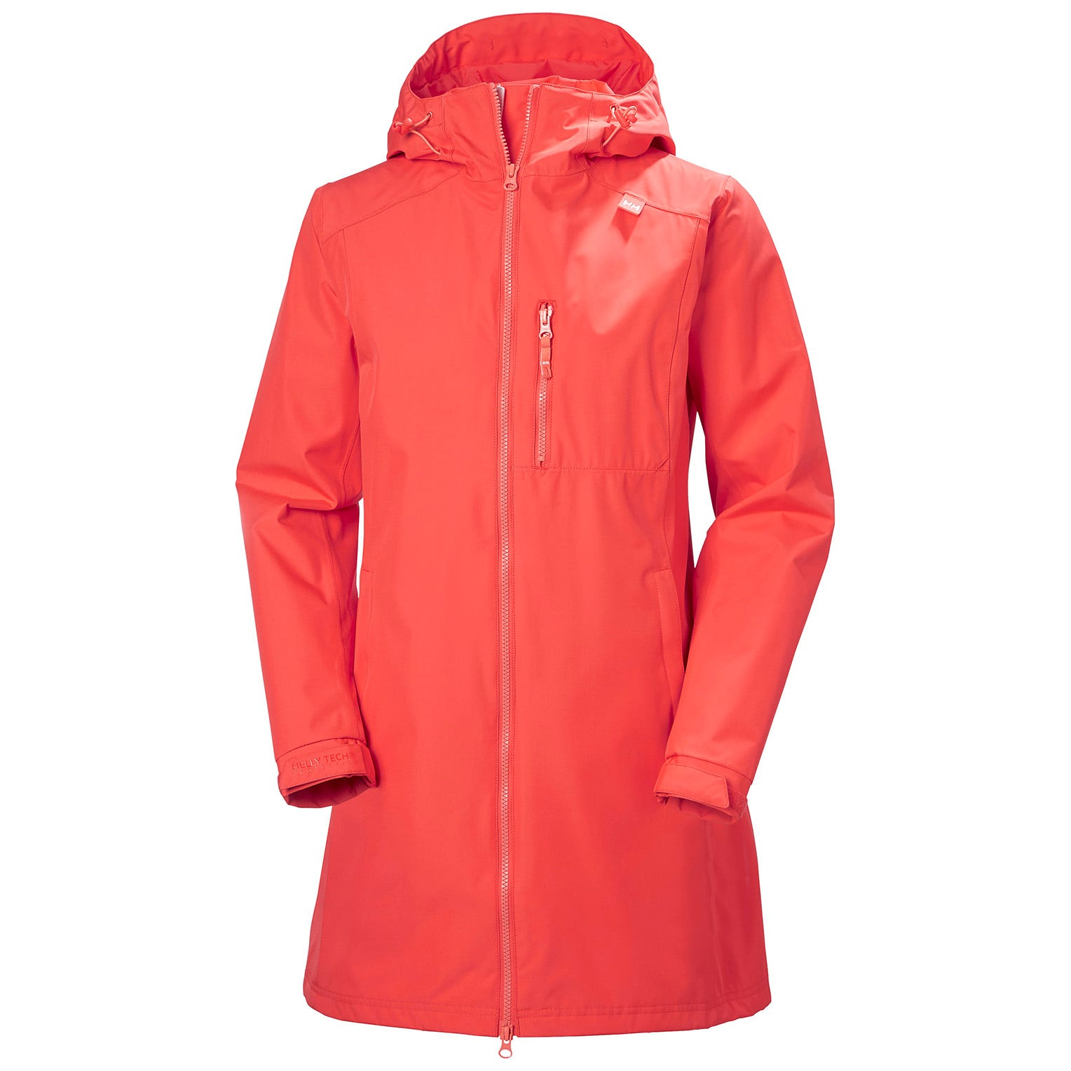 Womens Long Belfast 3/4 Length Rain Jacket | Helly Hansen Womens M