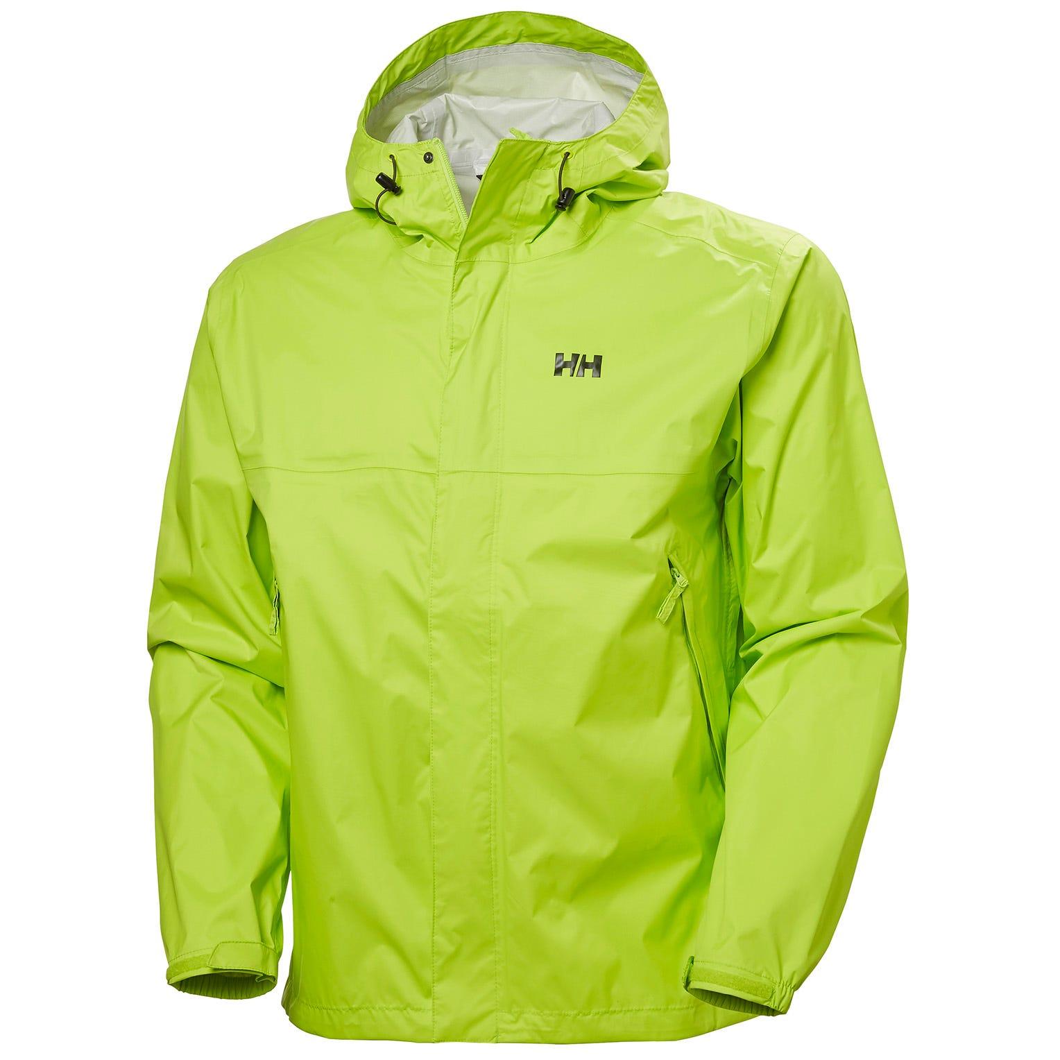 Helly Hansen Mens Loke Hiking Jacket Green XXL