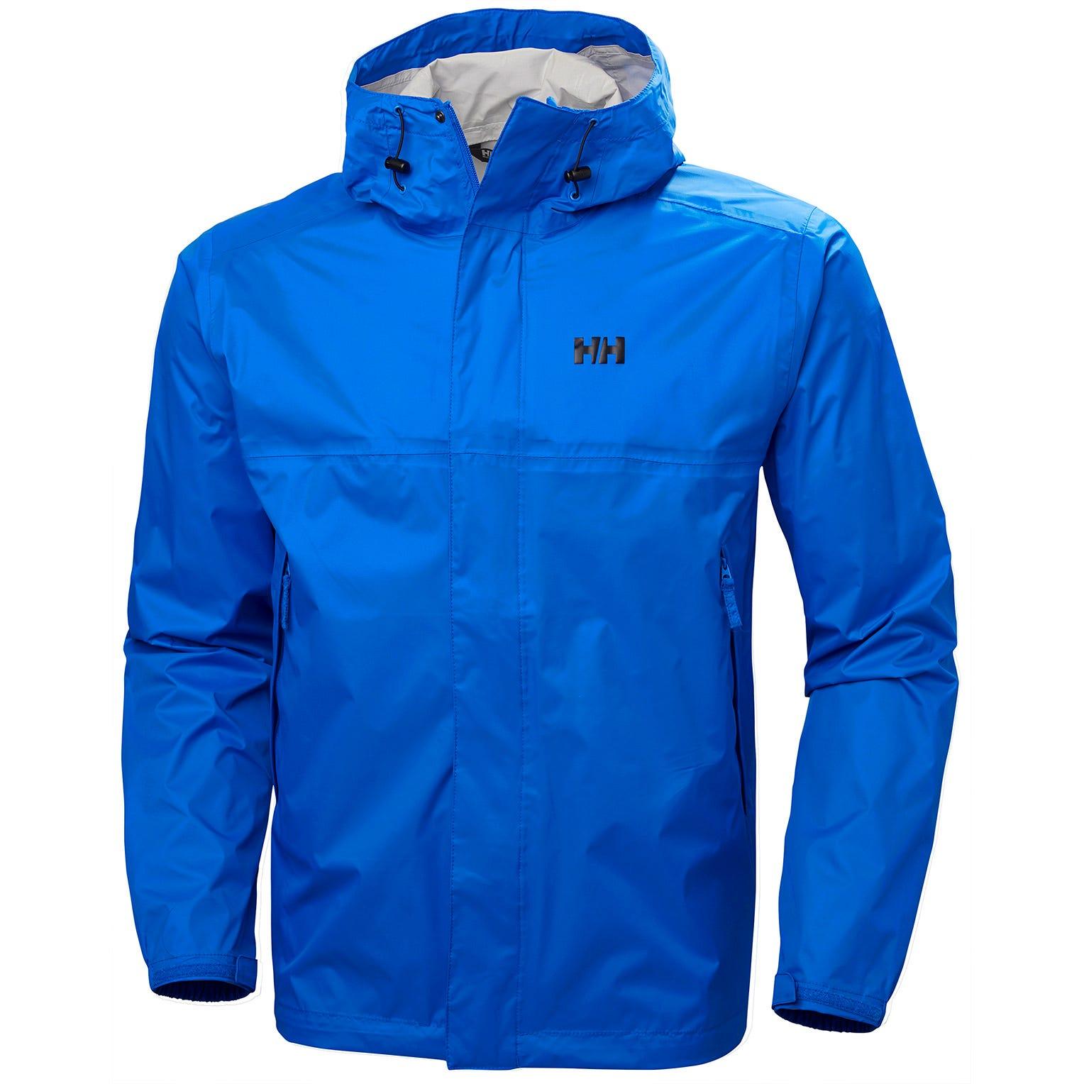 Helly Hansen Mens Loke Hiking Jacket Blue XL