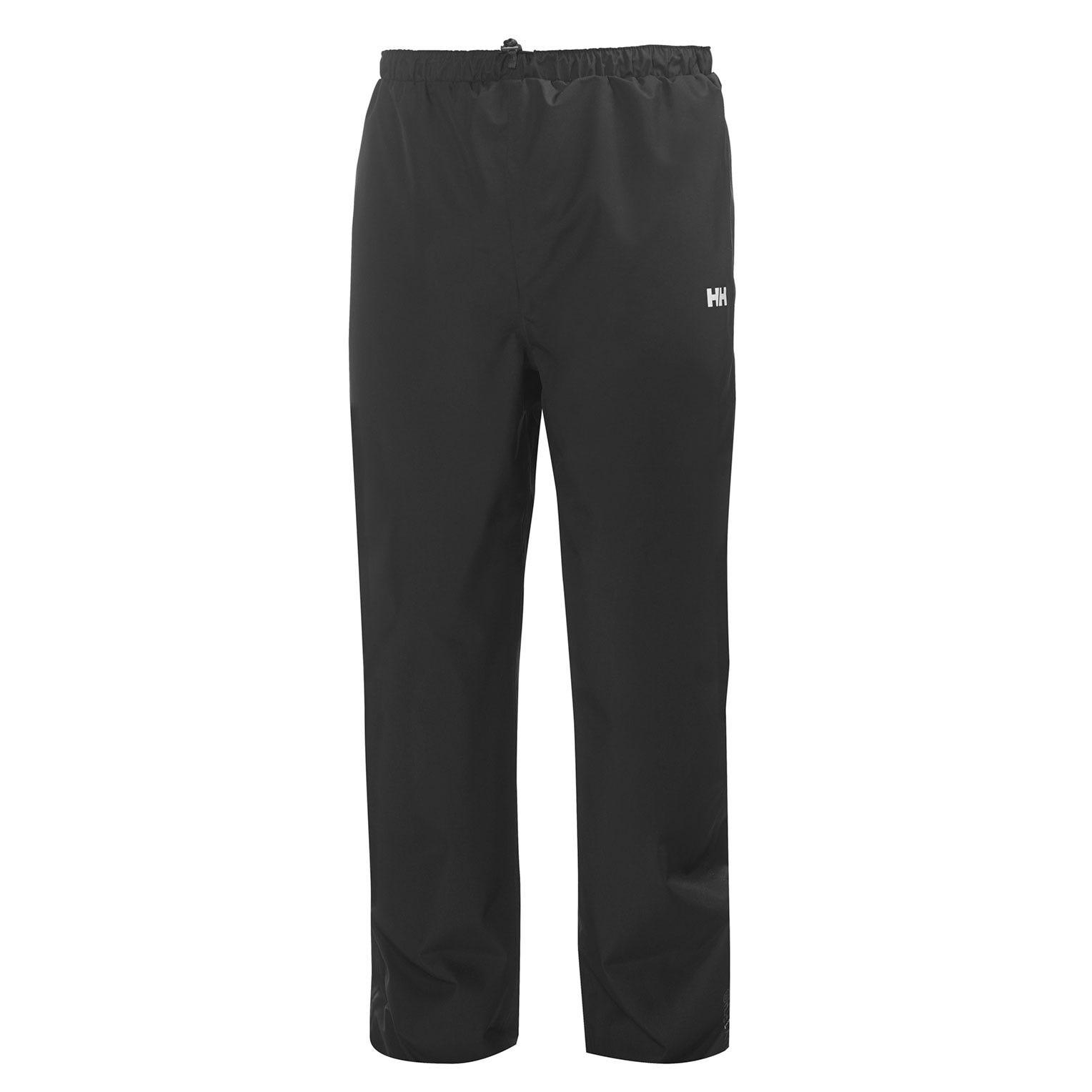 Mens Seven J Trouser | Waterproof Mens Rain Trousers Uk Helly Hansen Black L