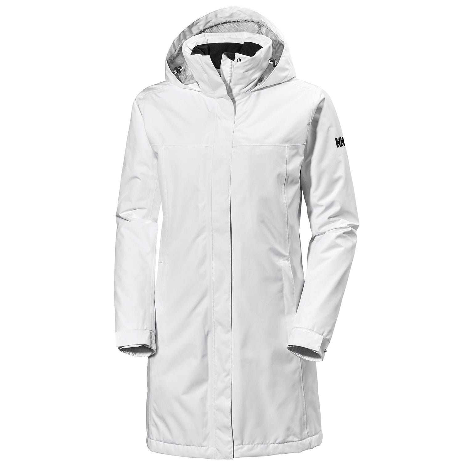 Helly Hansen Womens Aden Insulated Coat Parka White XL