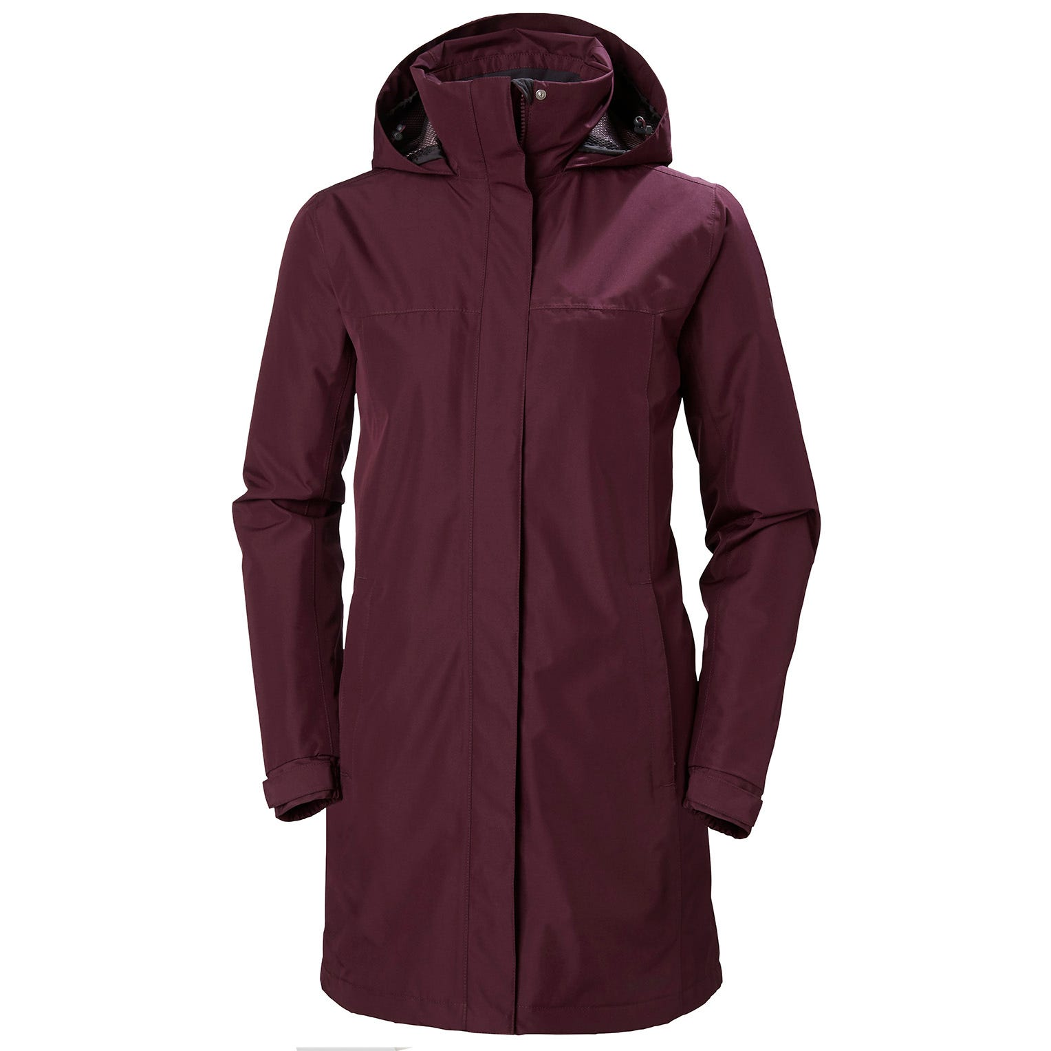 Helly Hansen Womens Aden Insulated Coat Parka Purple M