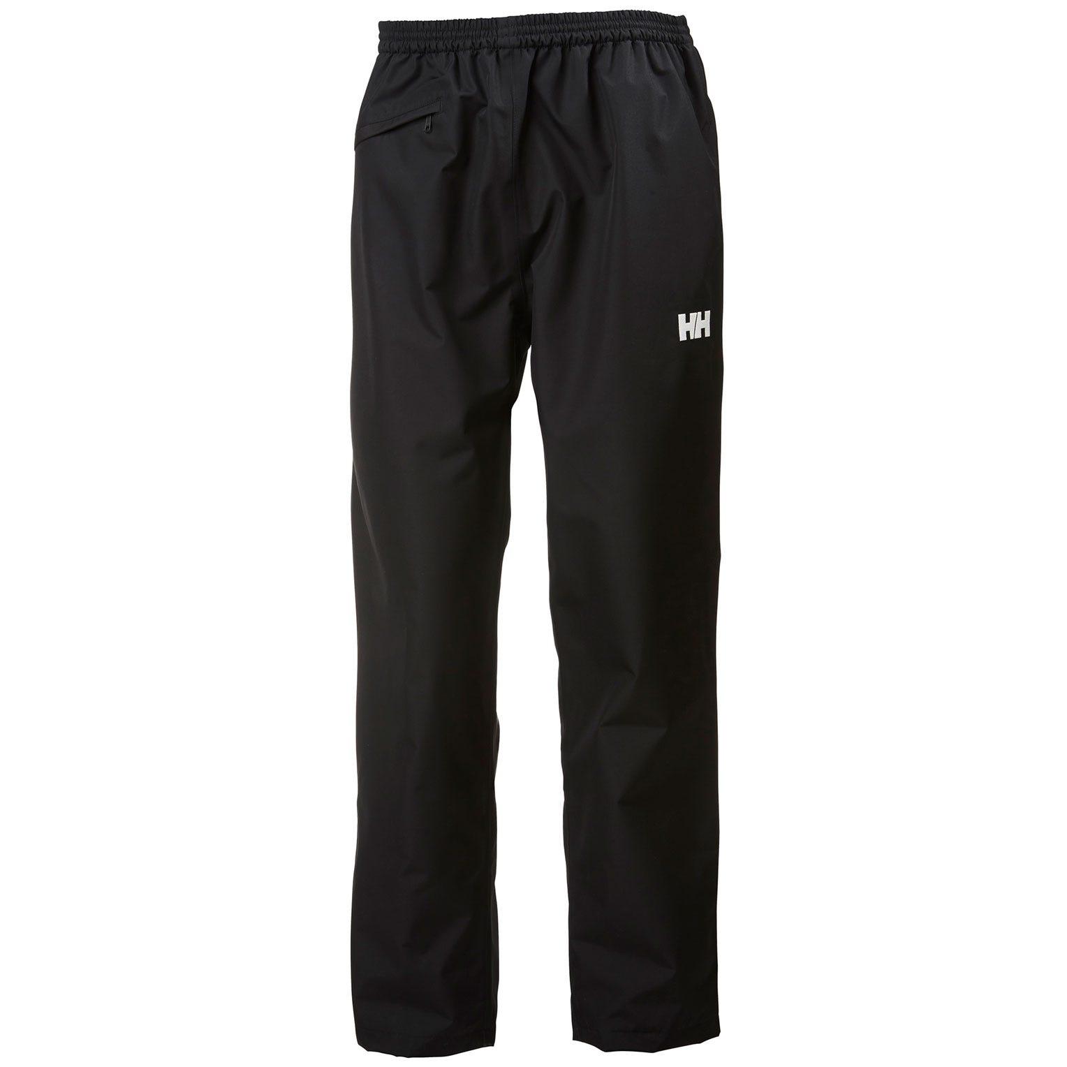 Mens Dubliner Waterproof Shell Trousers | Uk Helly Hansen Mens Rain Trouser Black S