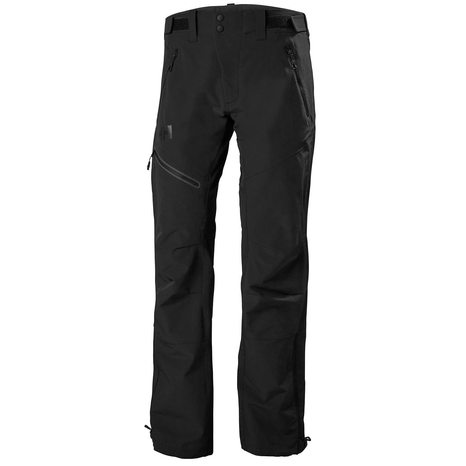 Helly Hansen Mens Odin Huginn Softshell Trousers Black XXXL