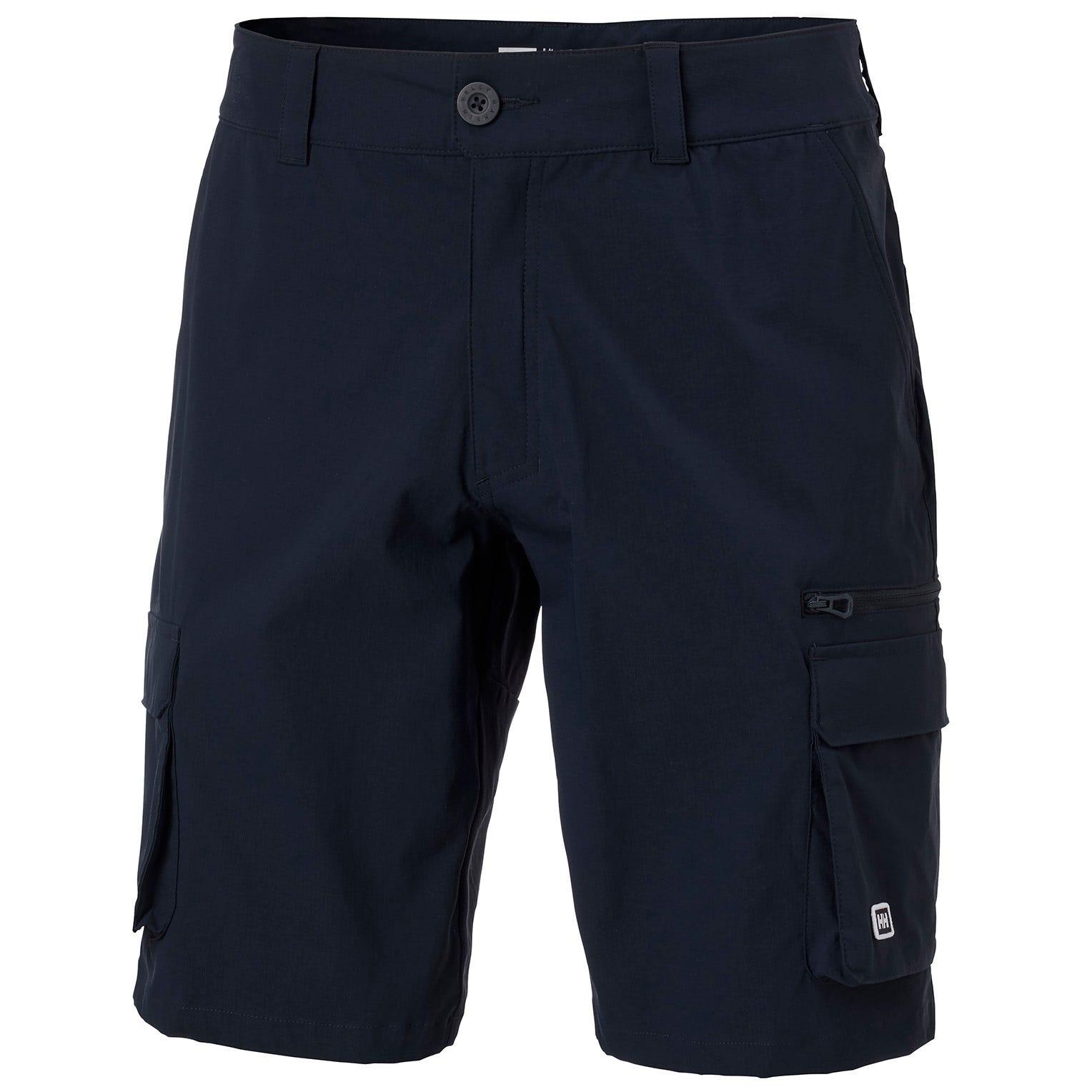 Mens Maridalen Outdoor Cargo Shorts   Uk Helly Hansen Mens Hiking Trouser Navy S