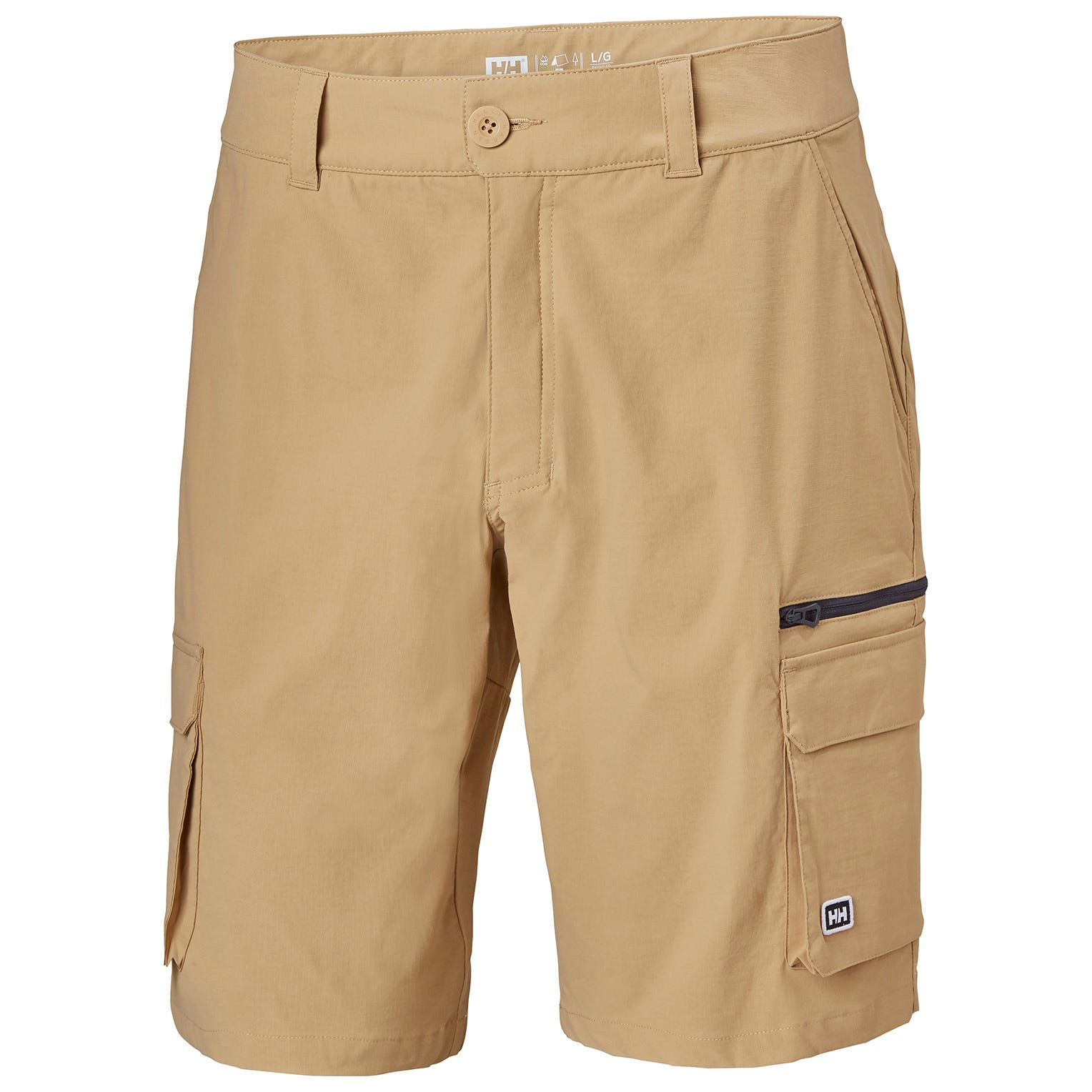 Helly Hansen Mens Maridalen Shorts Hiking Trouser Brown M