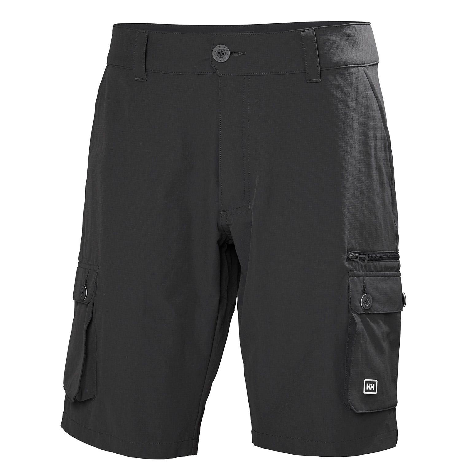 Mens Maridalen Outdoor Cargo Shorts   Uk Helly Hansen Mens Hiking Trouser Black XL