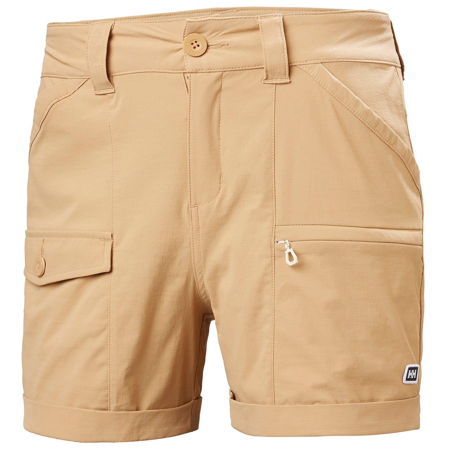 Womens Maridalen Quick Dry Cargo Shorts | Uk Helly Hansen Womens Hiking Trouser Brown S